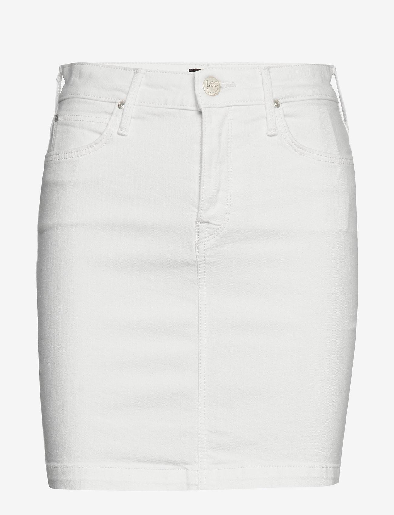 Lee Jeans - MID SKIRT - denimskjørt - rinse - 1