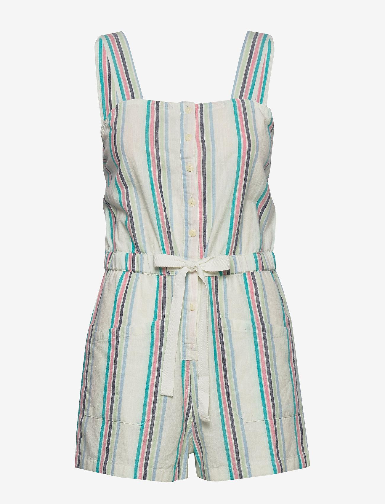 Lee Jeans - CAMI PLAYSUIT - buksedragter - bright white - 1