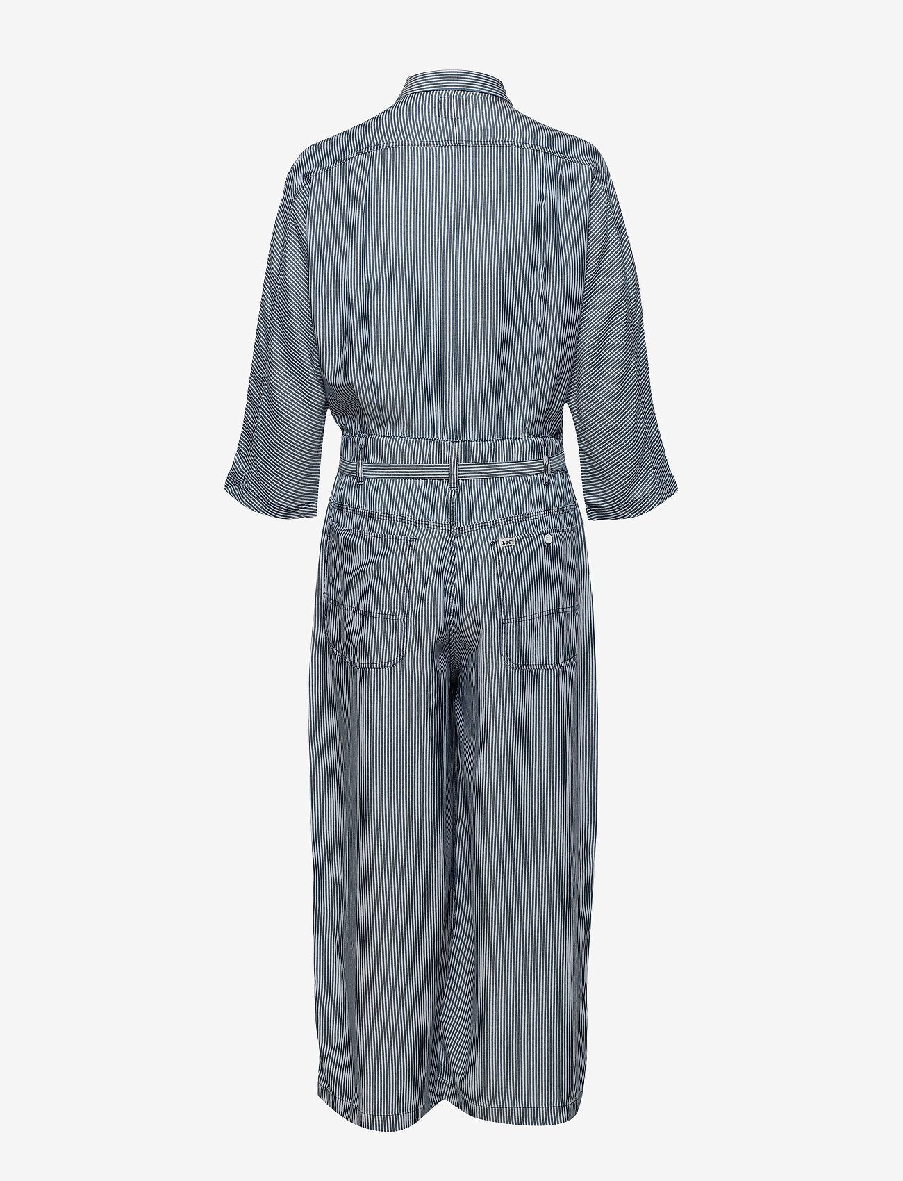 Lee Jeans - WIDE LEG JUMPSUIT - jumpsuits - dipped blue