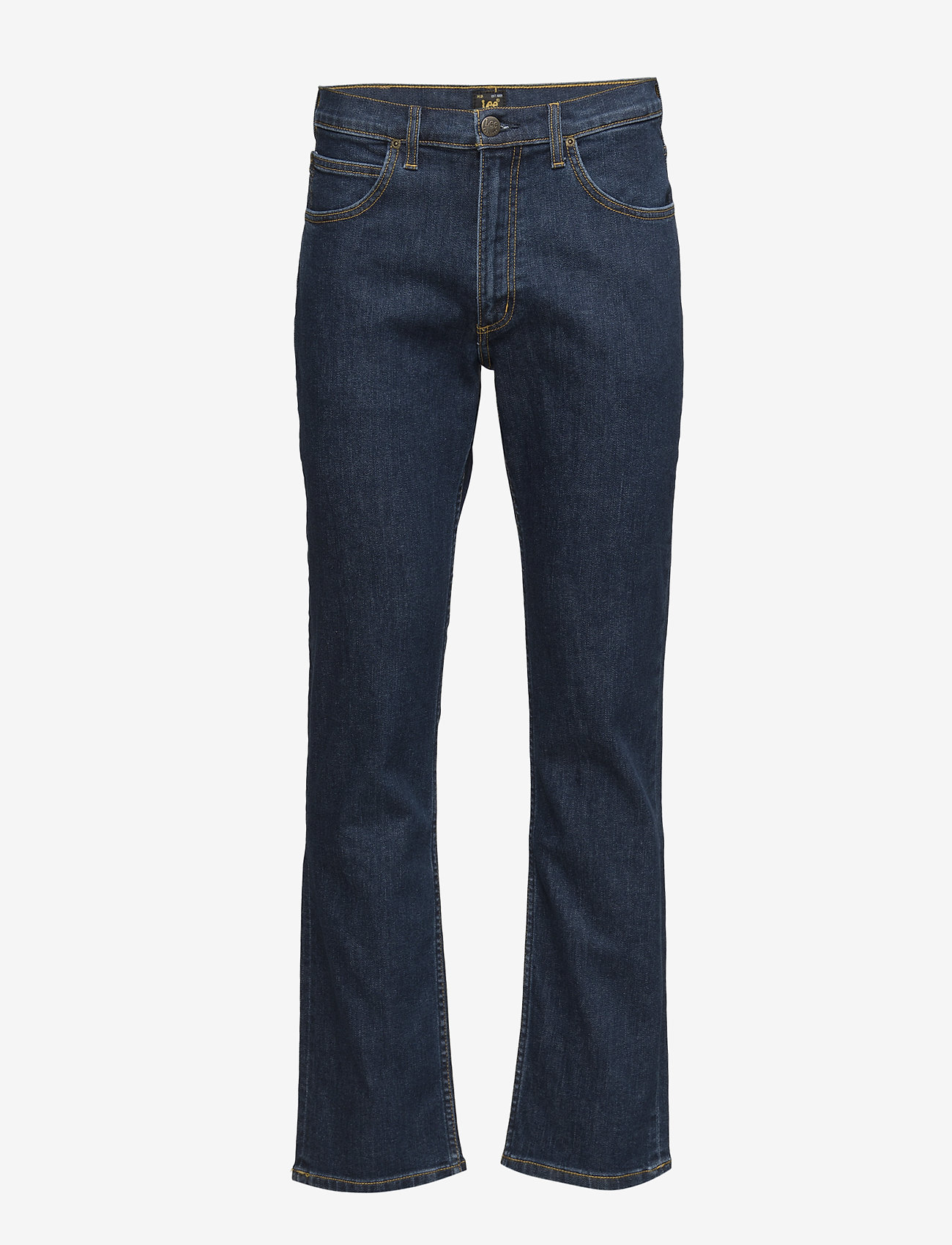 Lee Jeans - BROOKLYN STRAIGHT - relaxed jeans - dark stonewash - 0