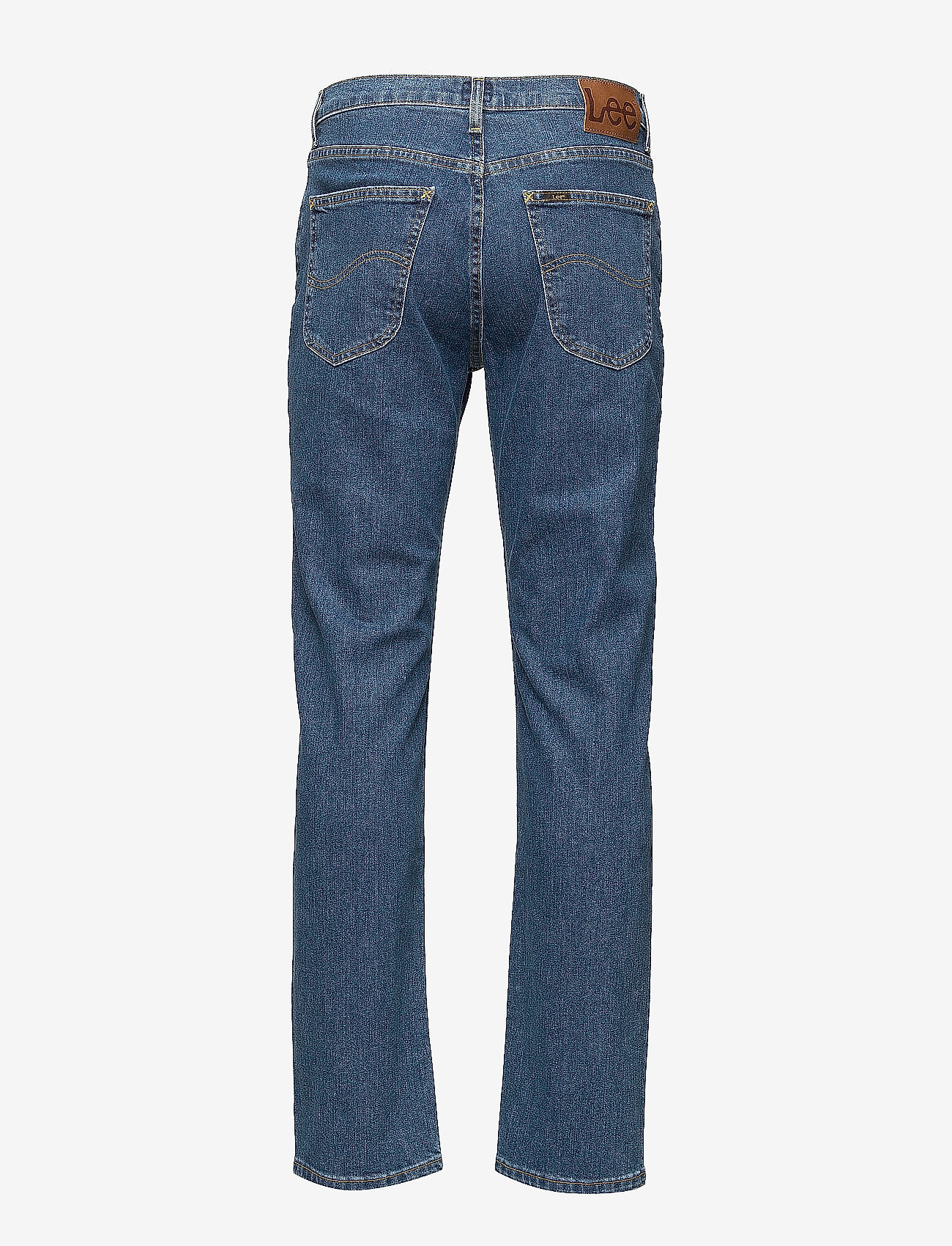 Lee Jeans - BROOKLYN STRAIGHT - relaxed jeans - mid stonewash - 1