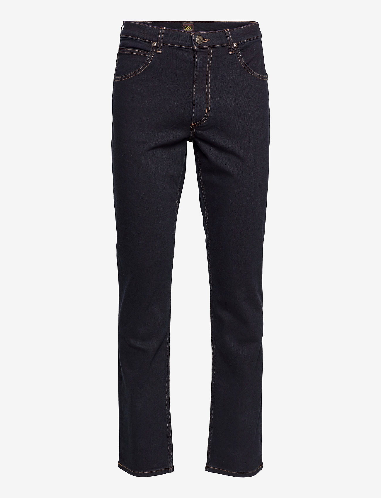 Lee Jeans - BROOKLYN STRAIGHT - relaxed jeans - blue black - 0