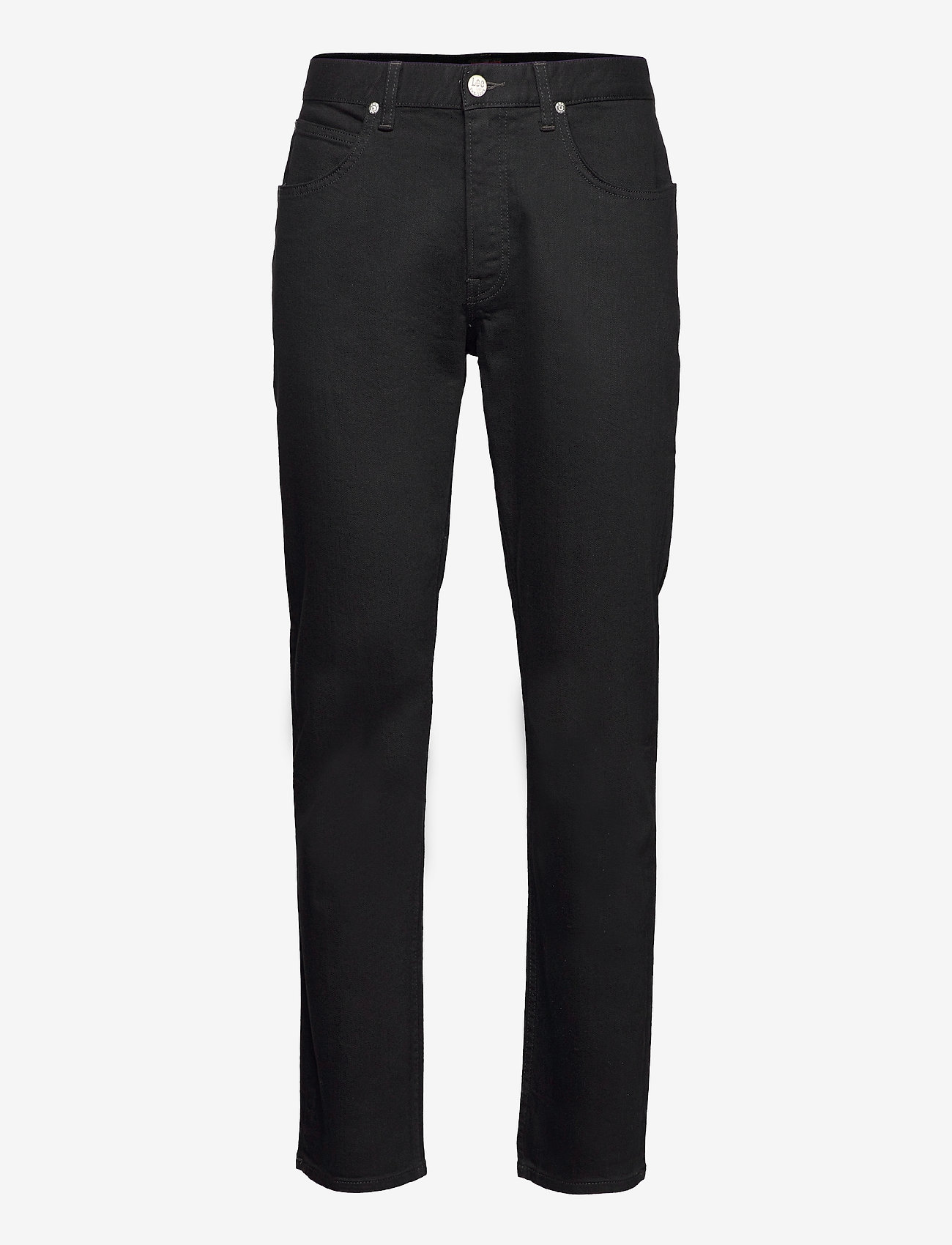Lee Jeans - BROOKLYN STRAIGHT - relaxed jeans - clean black - 0