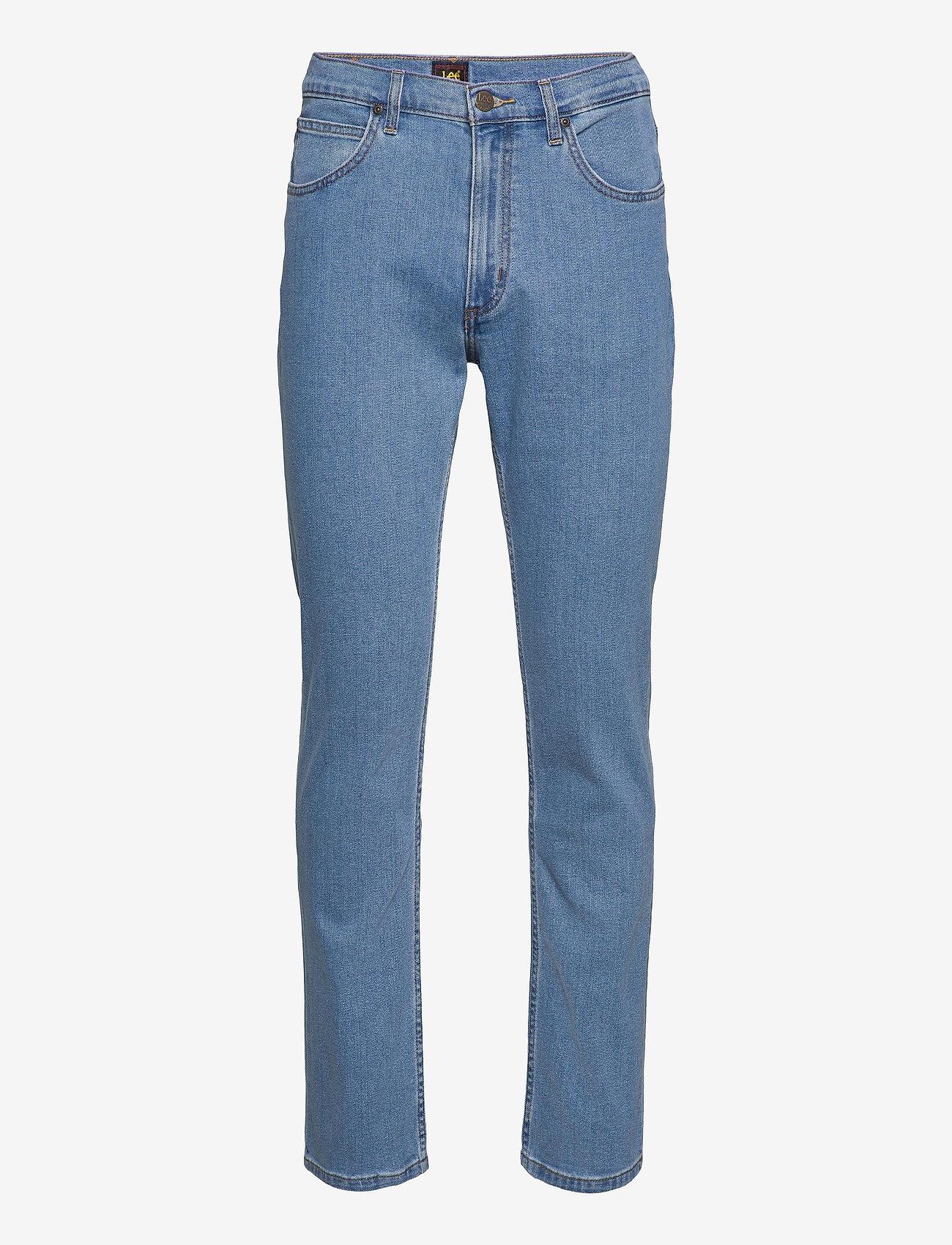 Lee Jeans - BROOKLYN STRAIGHT - regular jeans - light stone - 0