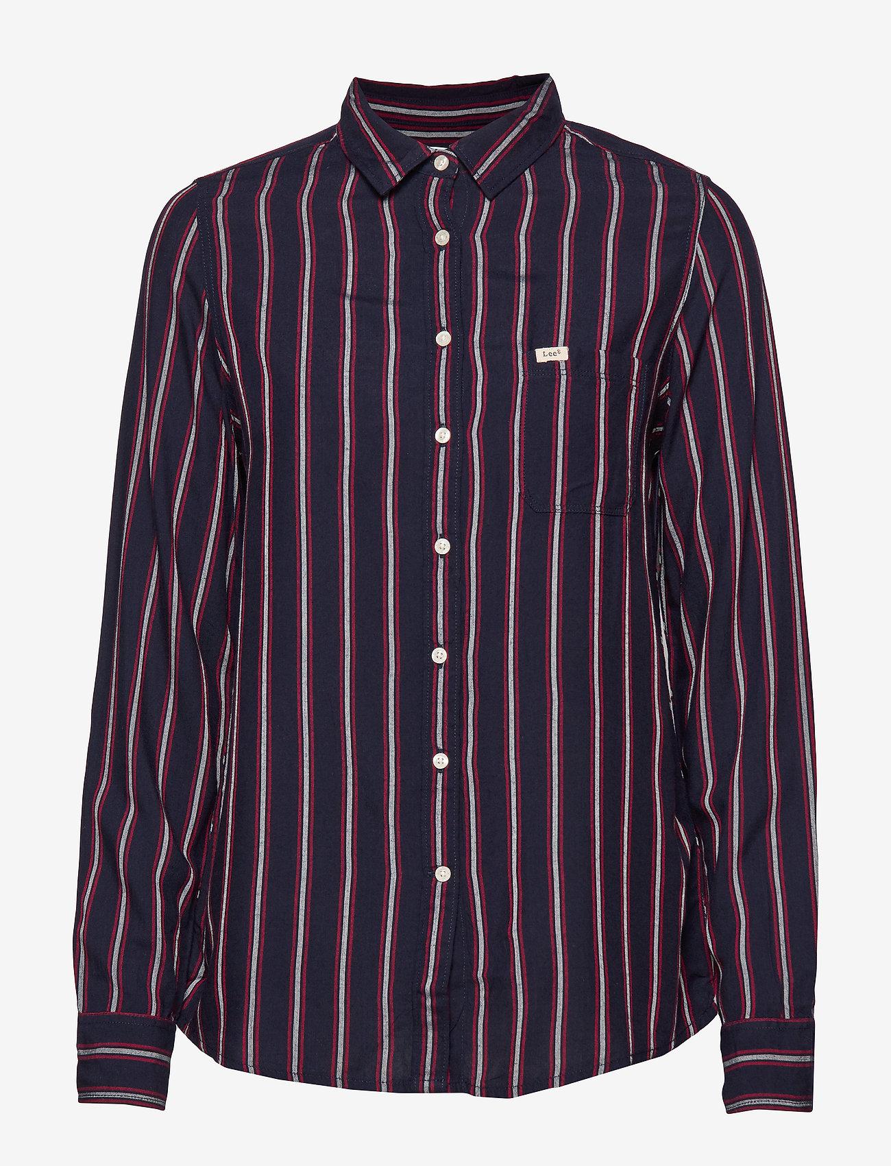 Lee Jeans - ONE POCKET SHIRT - langermede skjorter - night sky - 0