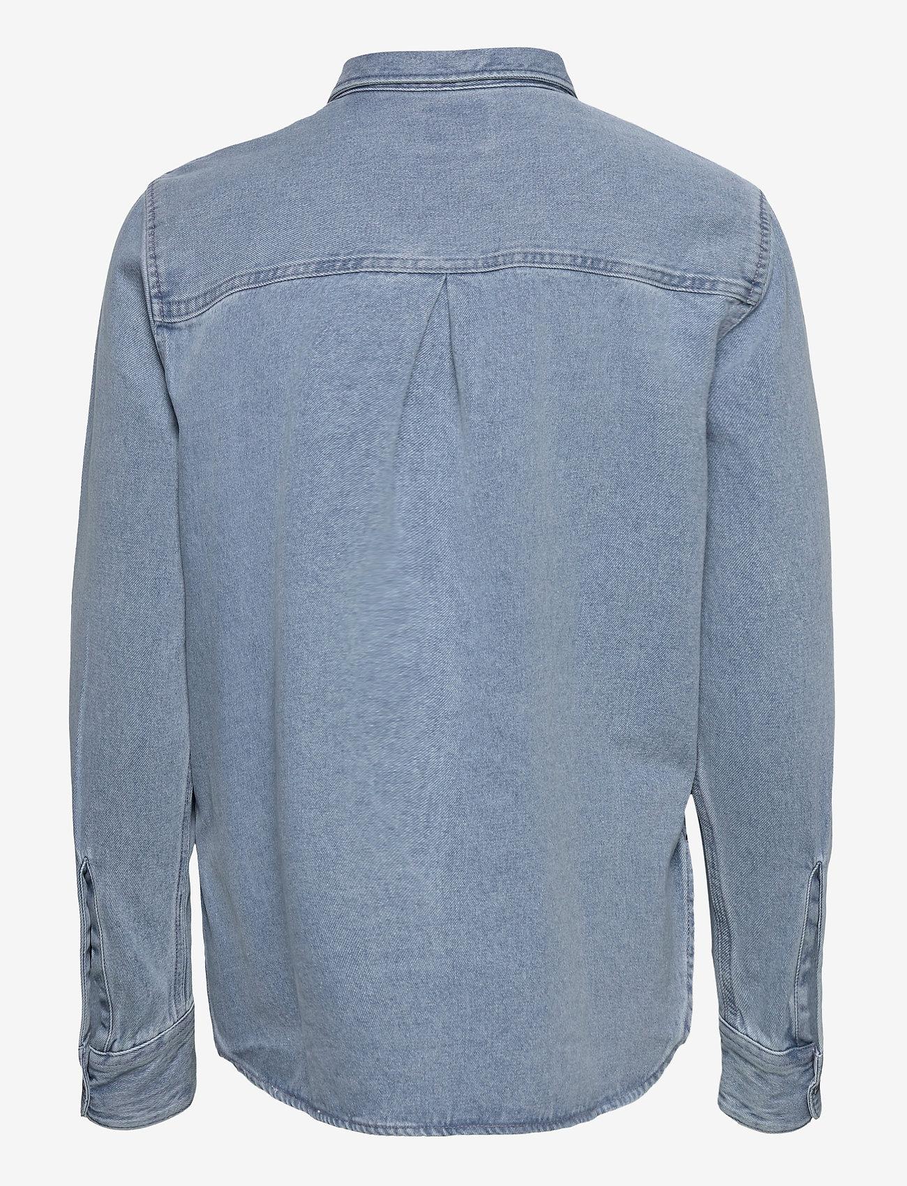 Lee Jeans - WORKER SHIRT - jeansskjortor - faded blue - 1