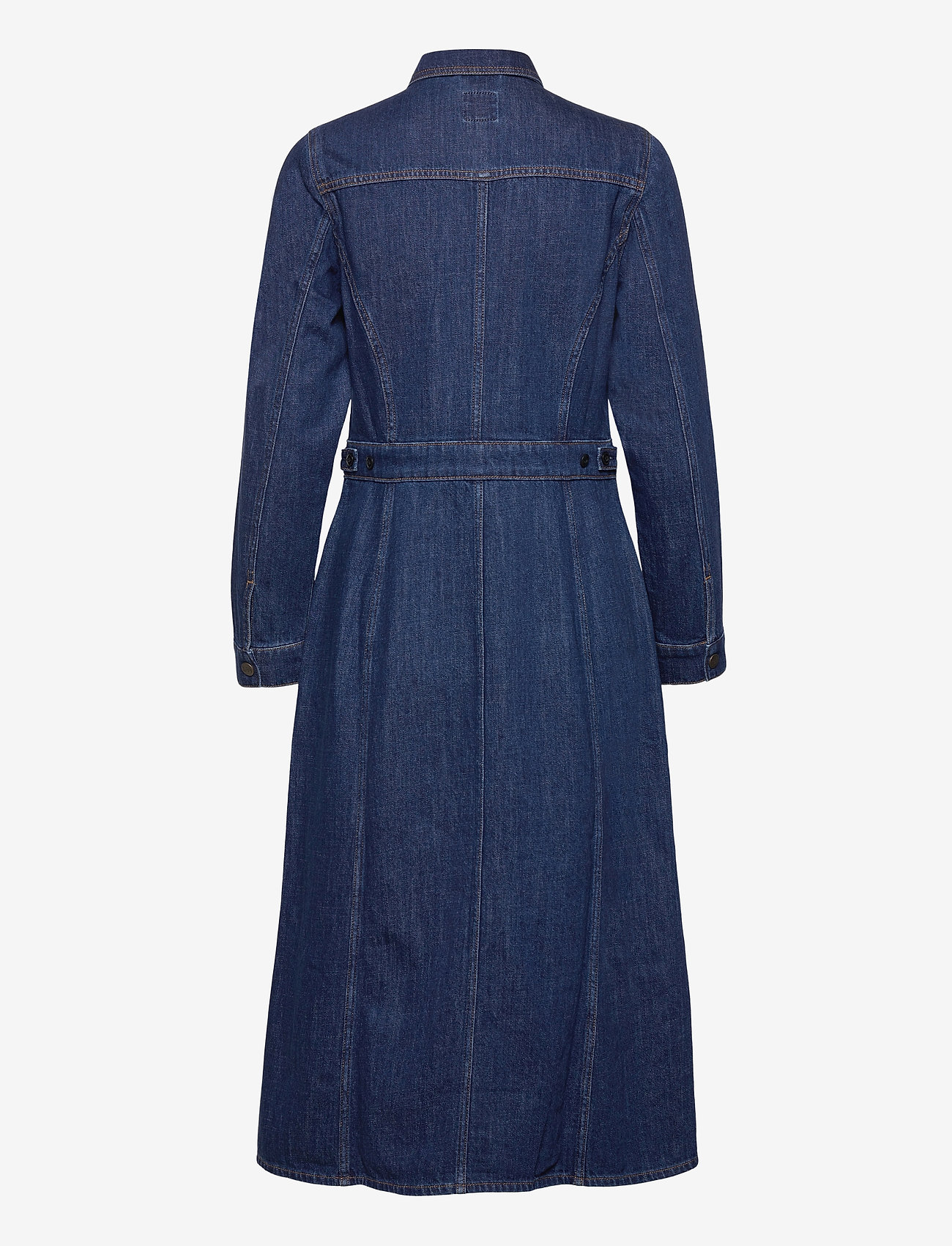 Lee Jeans - LONGSLEEVE DRESS - blousejurken - rinse - 1
