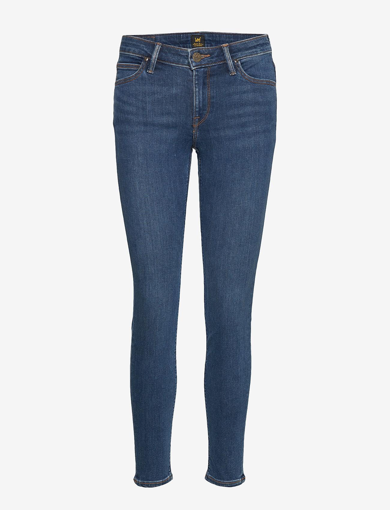 Lee Jeans - SCARLETT - skinny jeans - dark ulrich - 0