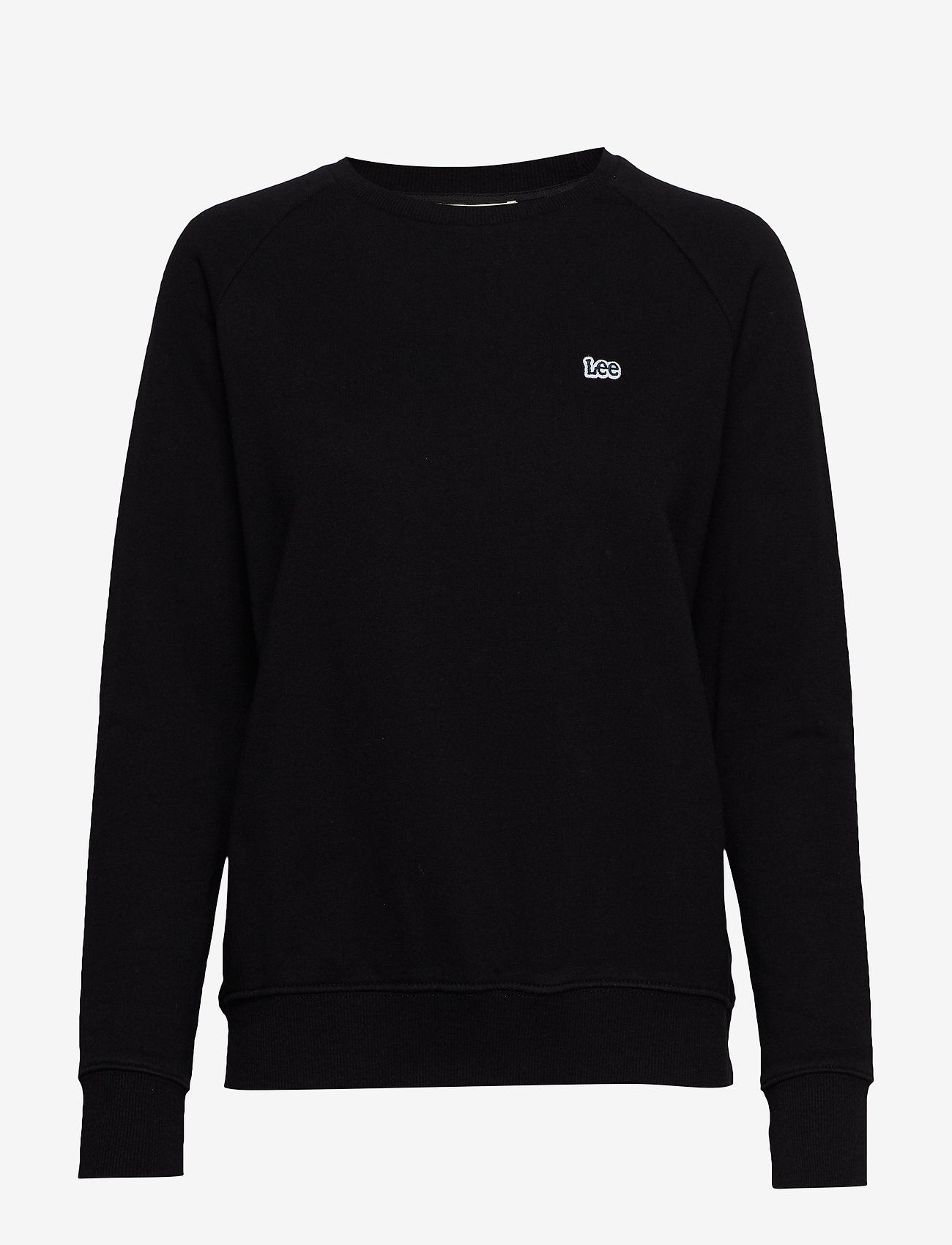 Lee Jeans - PLAIN CREW NECK SWS - sweatshirts - black - 0