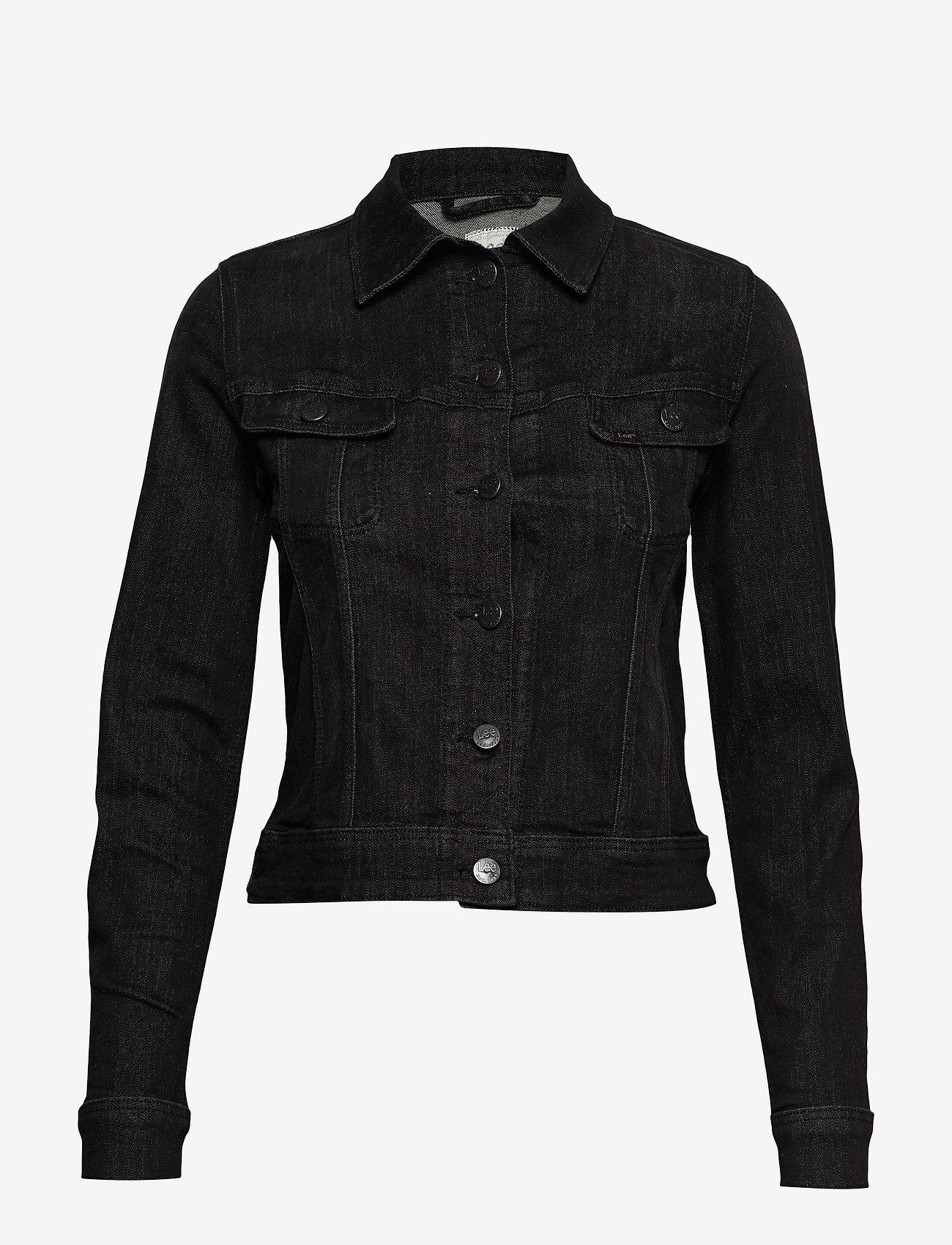 Lee Jeans - SLIM RIDER - jeansjakker - black orrick - 0