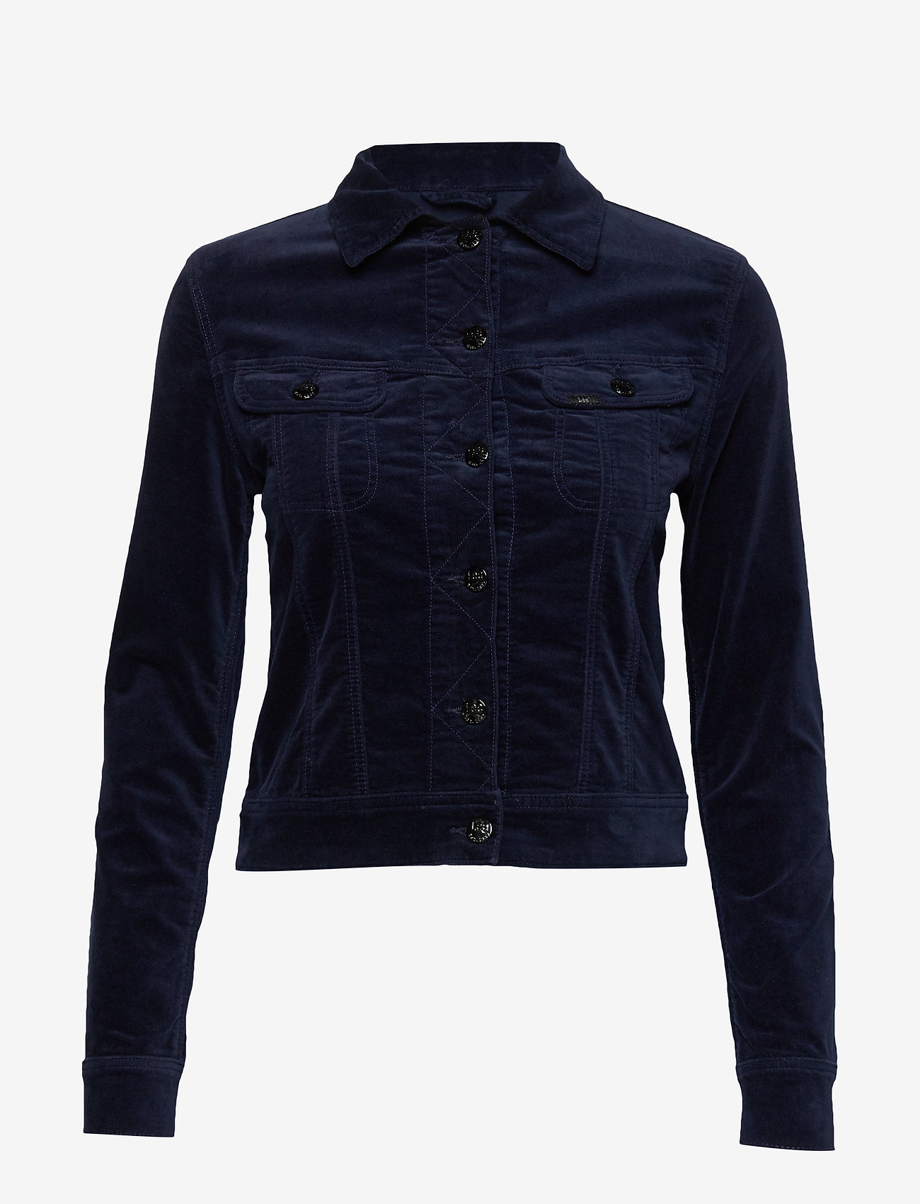 Lee Jeans - SLIM RIDER - jeansjakker - midnight velvet - 0