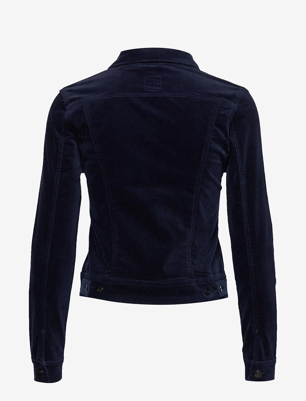 Lee Jeans - SLIM RIDER - jeansjakker - midnight velvet - 1