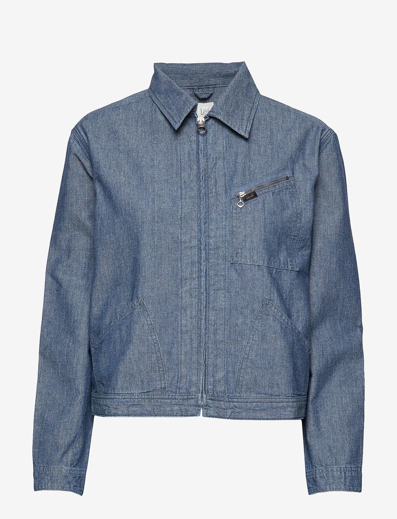 Lee Jeans - 191 J JACKET - jeansjakker - chambray - 0