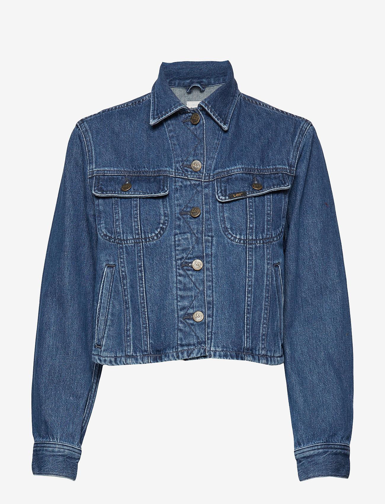 Lee Jeans - CROPPED RIDER JACKET - jeansjakker - tic - 0