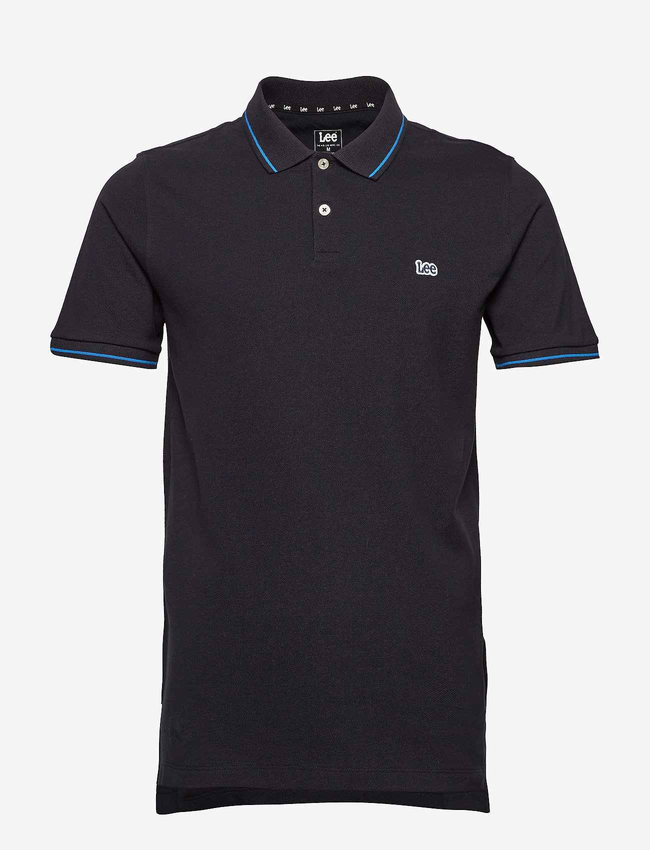 Lee Jeans - PIQUE POLO - short-sleeved polos - black - 0
