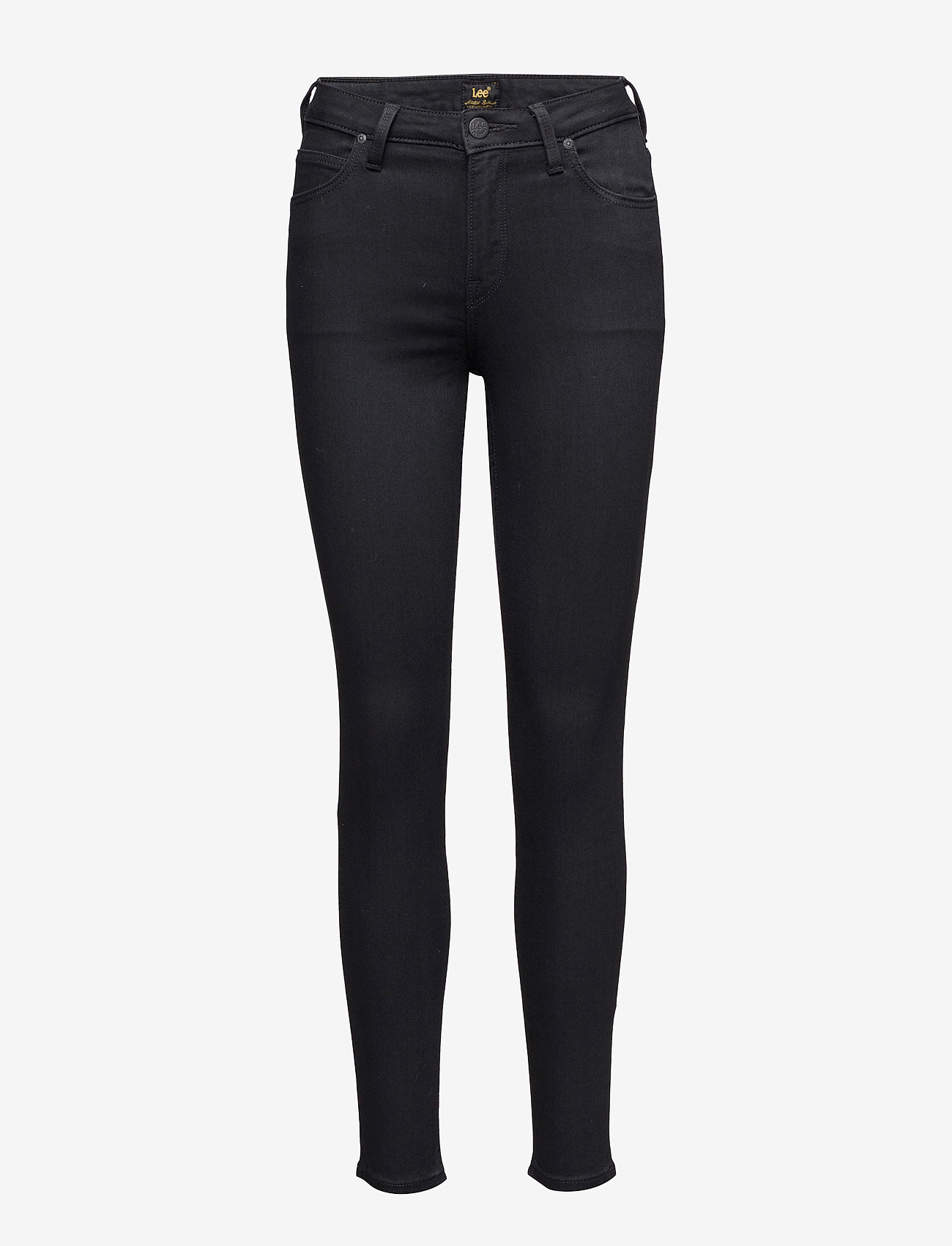 Lee Jeans - SCARLETT HIGH - slim jeans - black rinse - 1