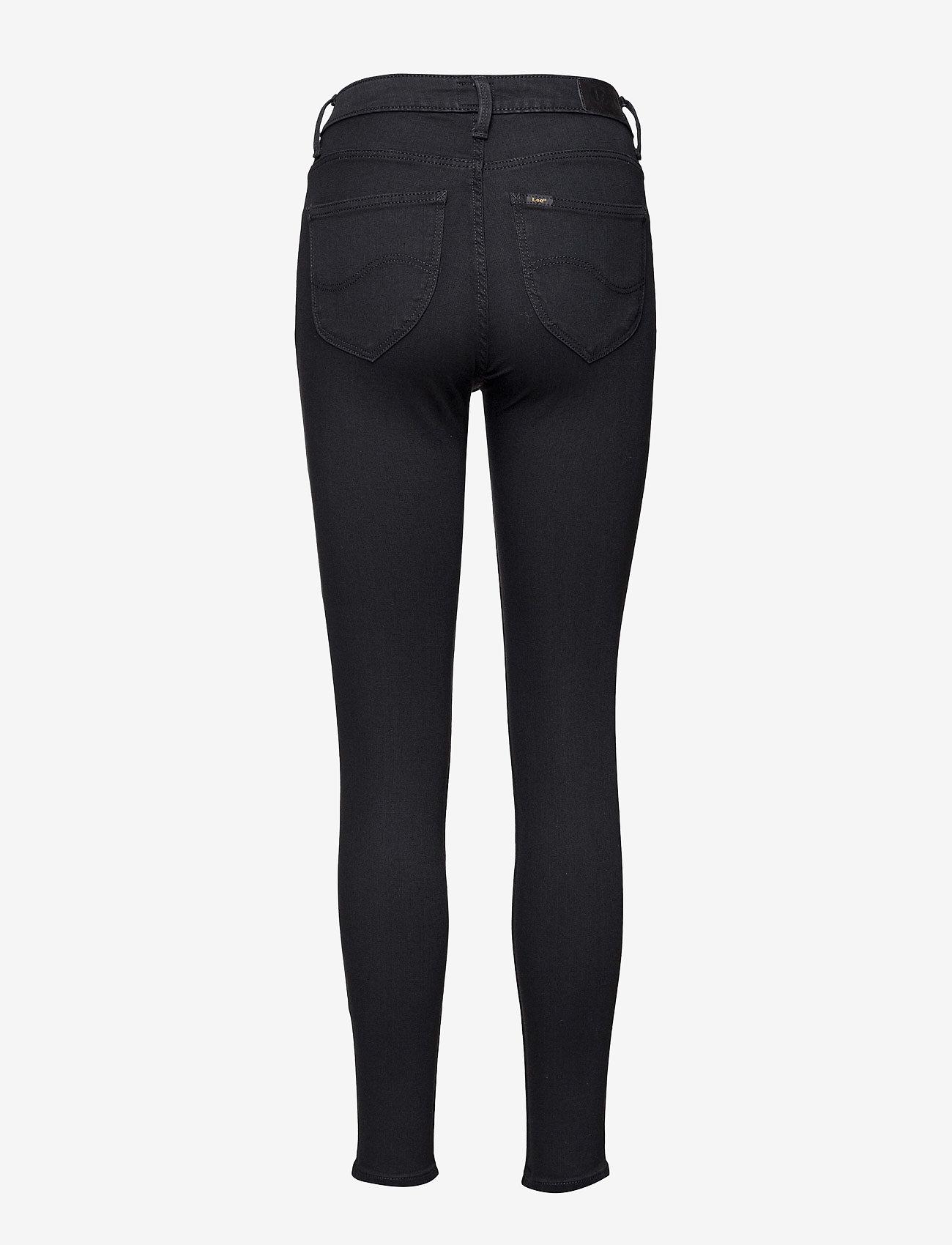 Lee Jeans - SCARLETT HIGH - skinny jeans - black rinse - 2