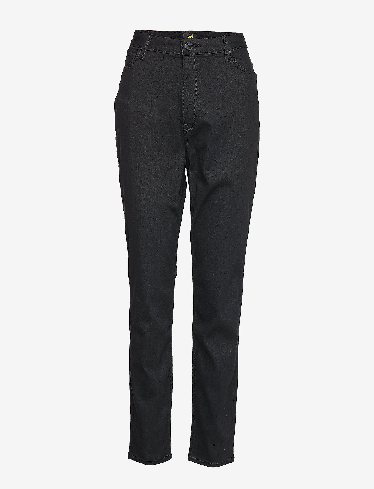 Lee Jeans - SCARLETT HIGH - pantalons droits - black rinse - 0