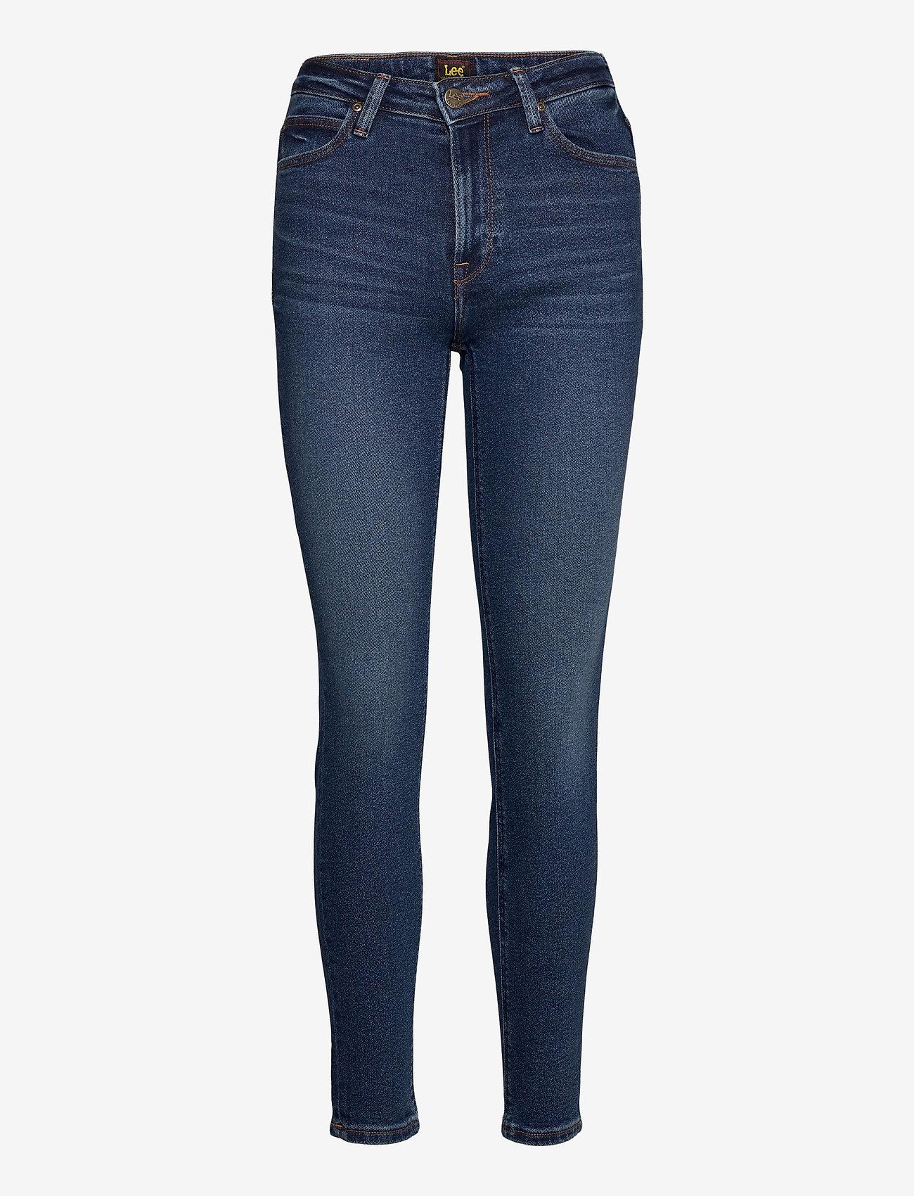 Lee Jeans - Scarlett High - skinny jeans - dark de niro - 0