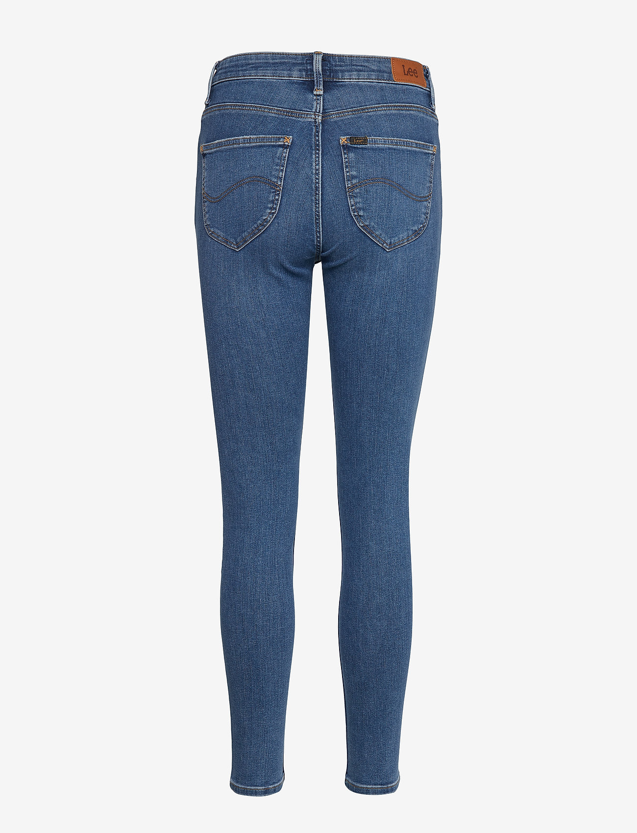 Lee Jeans - SCARLETT HIGH - skinny jeans - mid copan - 2
