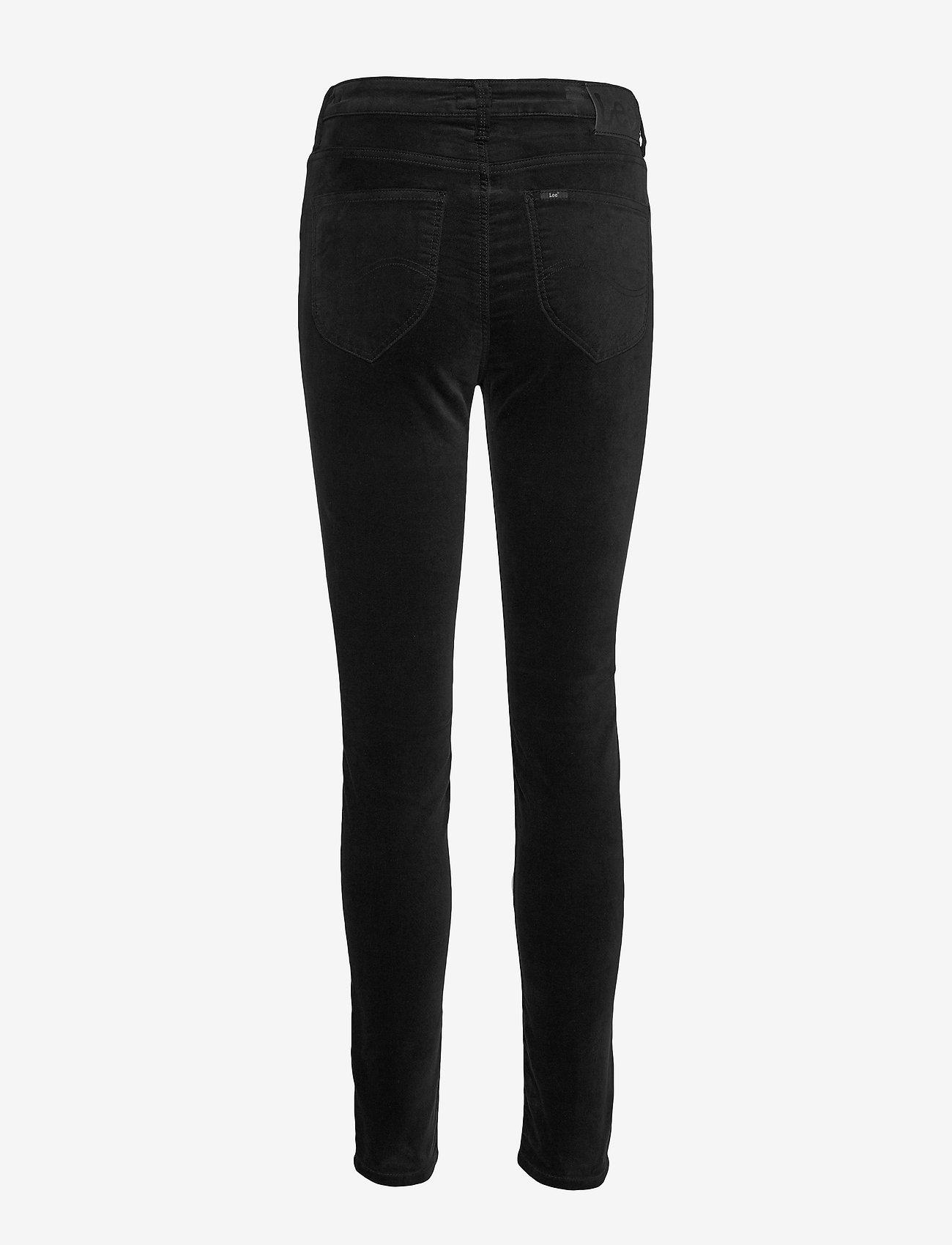 Lee Jeans - SCARLETT HIGH - slim fit bukser - black - 1