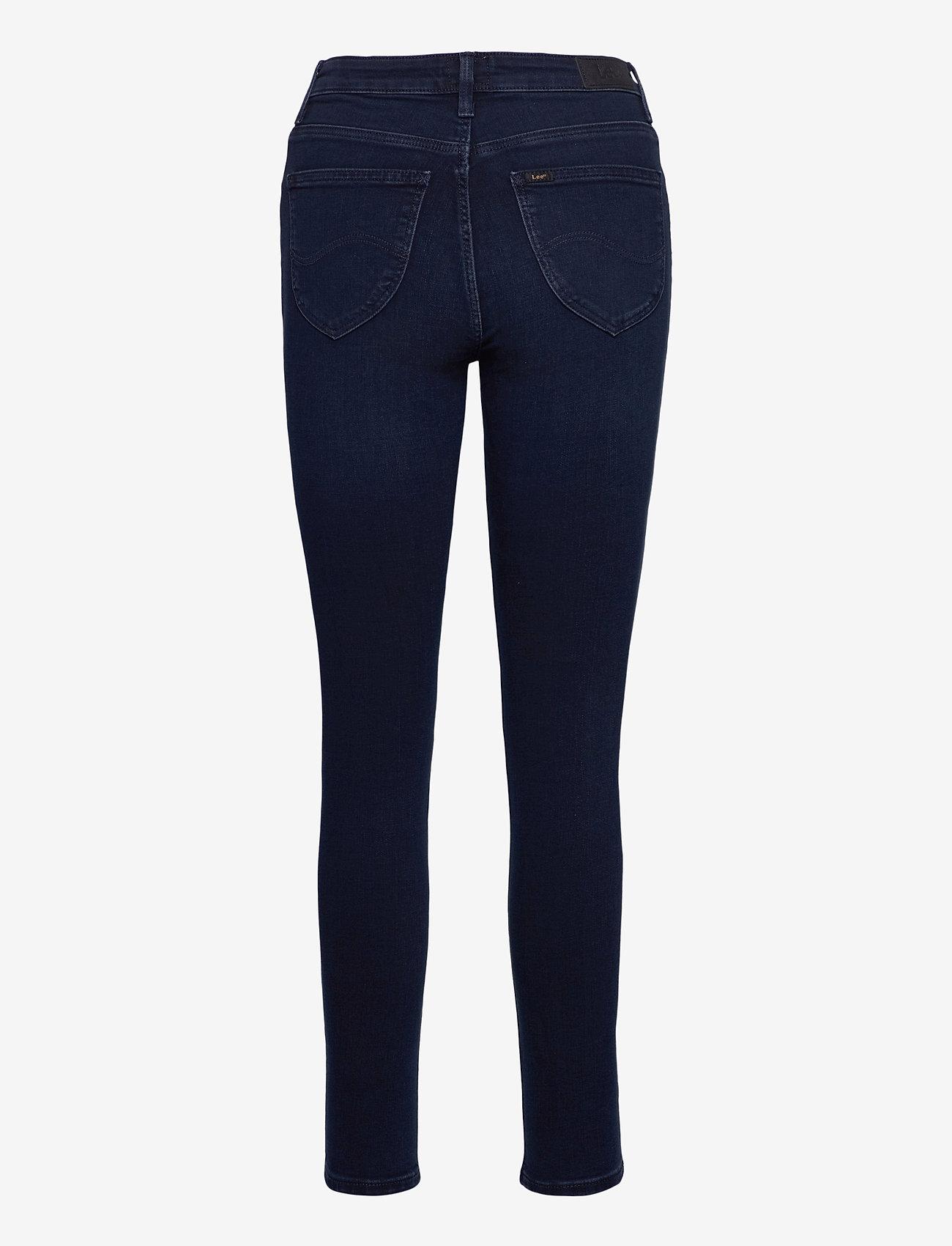 Lee Jeans - SCARLETT HIGH - slim jeans - worn ebony - 1