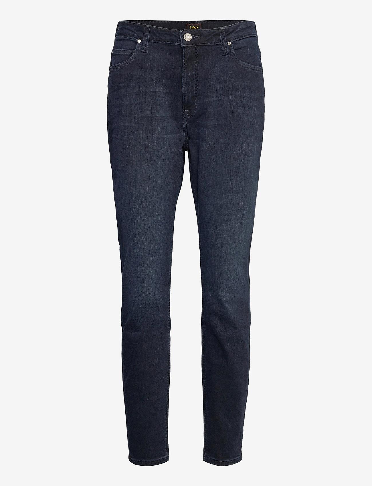 Lee Jeans - SCARLETT HIGH - skinny jeans - worn ebony - 0