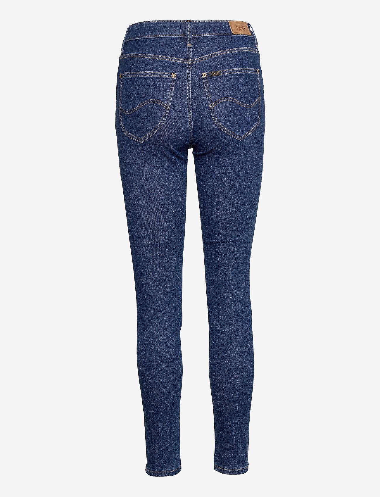 Lee Jeans - SCARLETT HIGH - skinny jeans - dark mono - 1