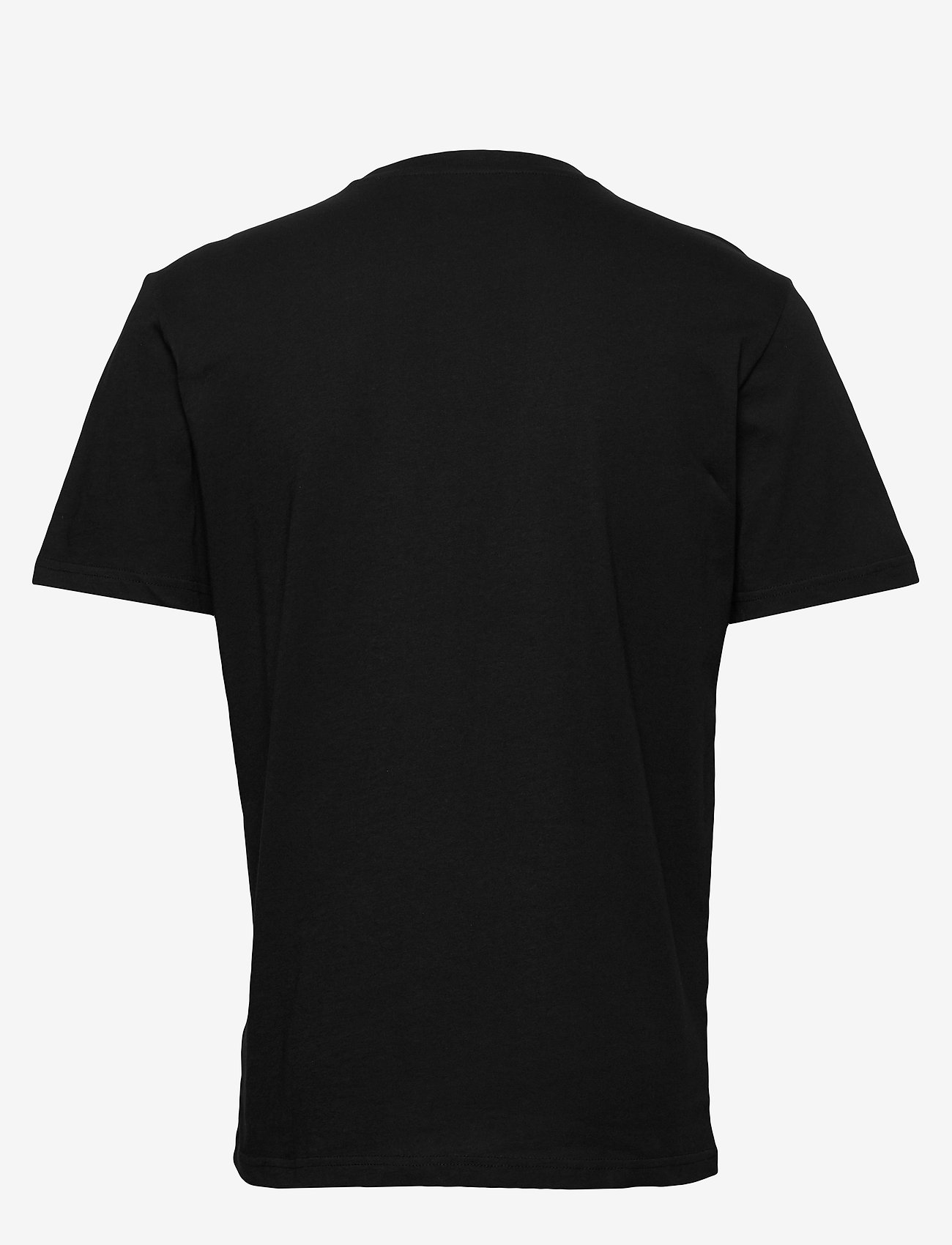 Lee Jeans - WOBBLY LOGO TEE - short-sleeved t-shirts - black - 1