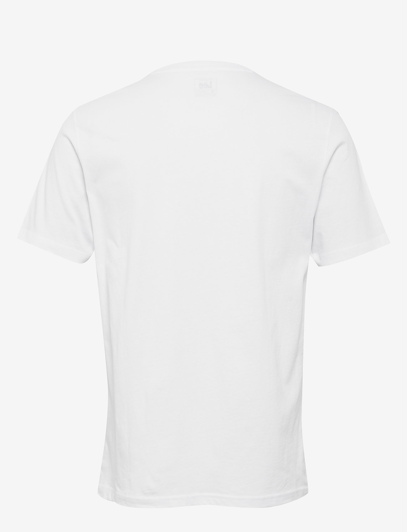 Lee Jeans - WOBBLY LOGO TEE - short-sleeved t-shirts - white - 1