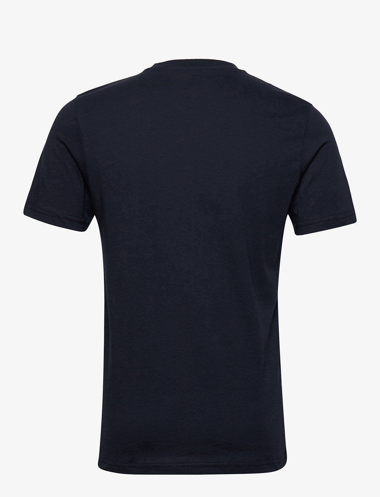 Lee Jeans - WOBBLY LOGO TEE - short-sleeved t-shirts - navy drop - 1
