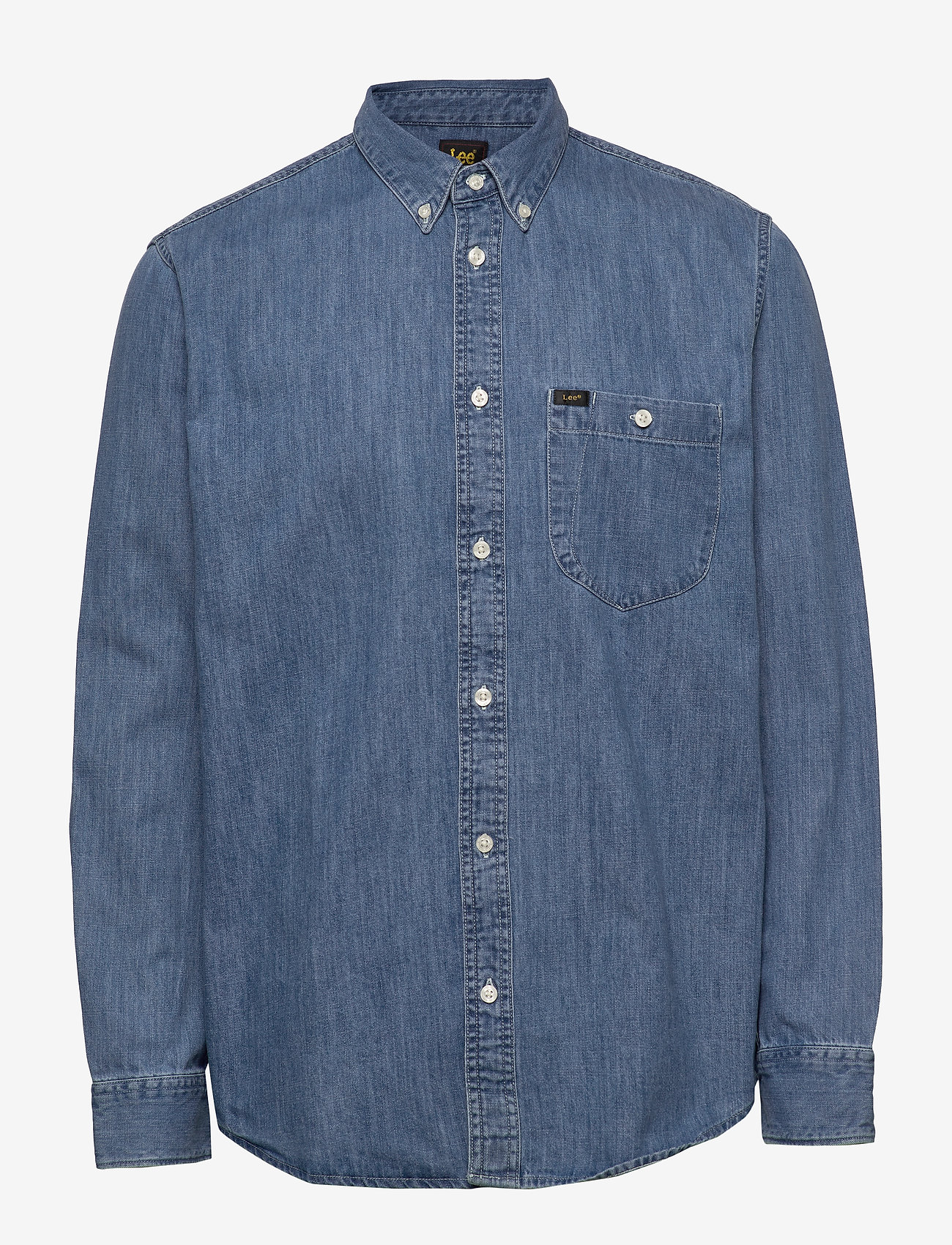 Lee Jeans - RIVETED SHIRT - peruspaitoja - washed blue - 0