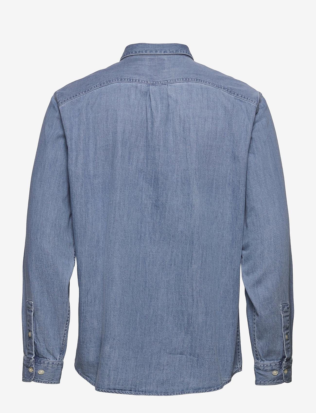 Lee Jeans - RIVETED SHIRT - denim shirts - frost blue - 1