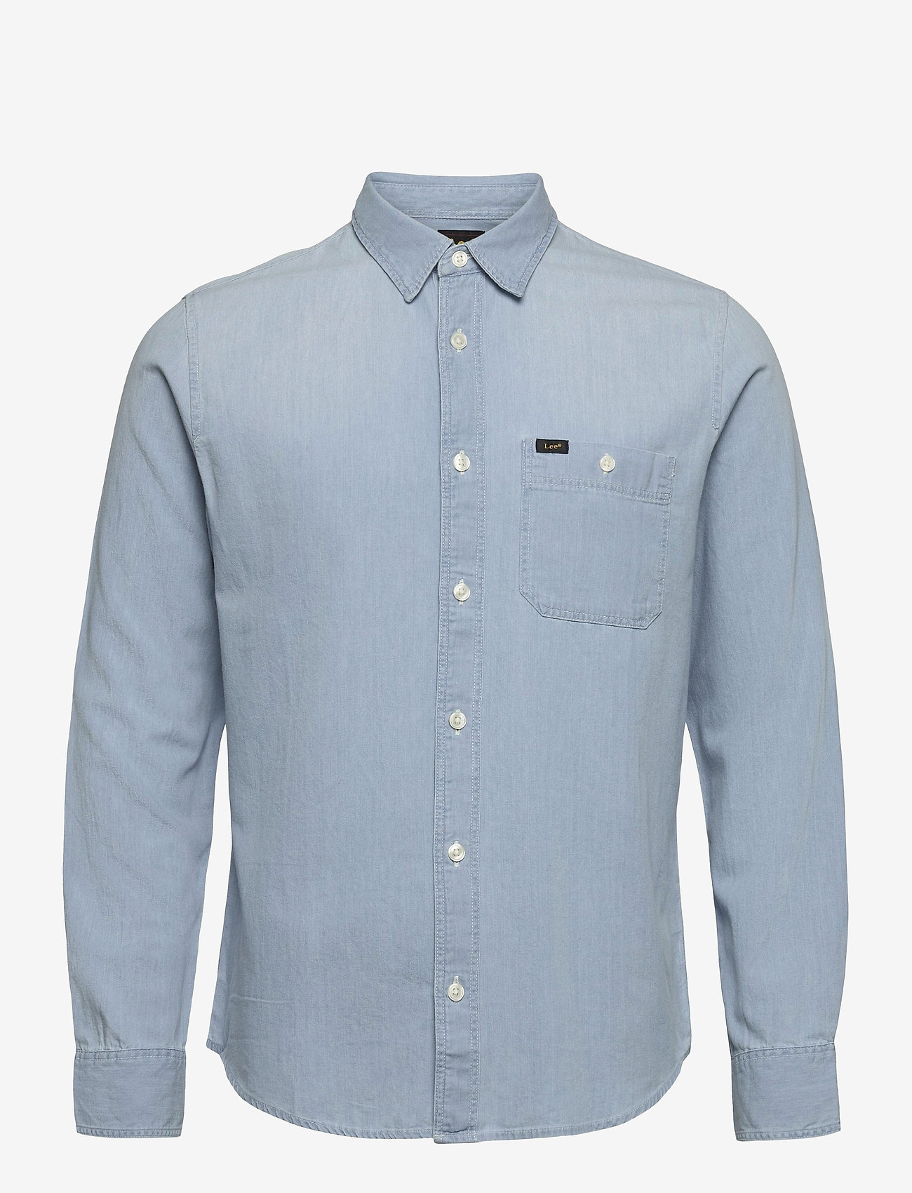 Lee Jeans - LEE ONE POCKET SHIRT - denim shirts - summer blue - 0