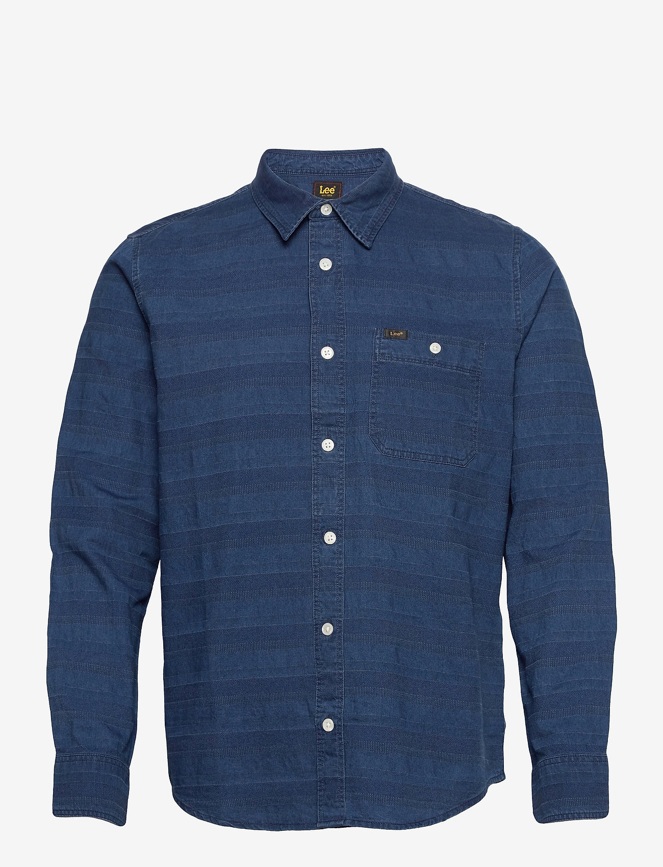 Lee Jeans - LEE ONE POCKET SHIRT - casual shirts - washed blue - 0