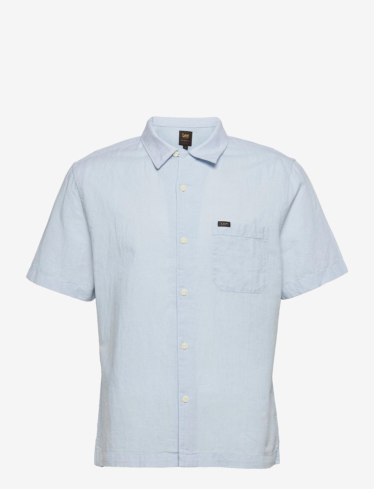 Lee Jeans - SS RESORT SHIRT - basic shirts - skyway blue - 0