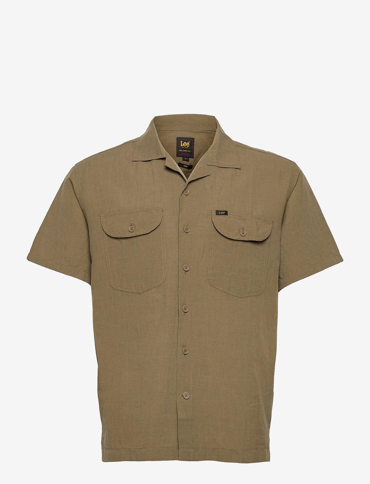 Lee Jeans - SS WORKER SHIRT - basic shirts - cloude dancer - 0