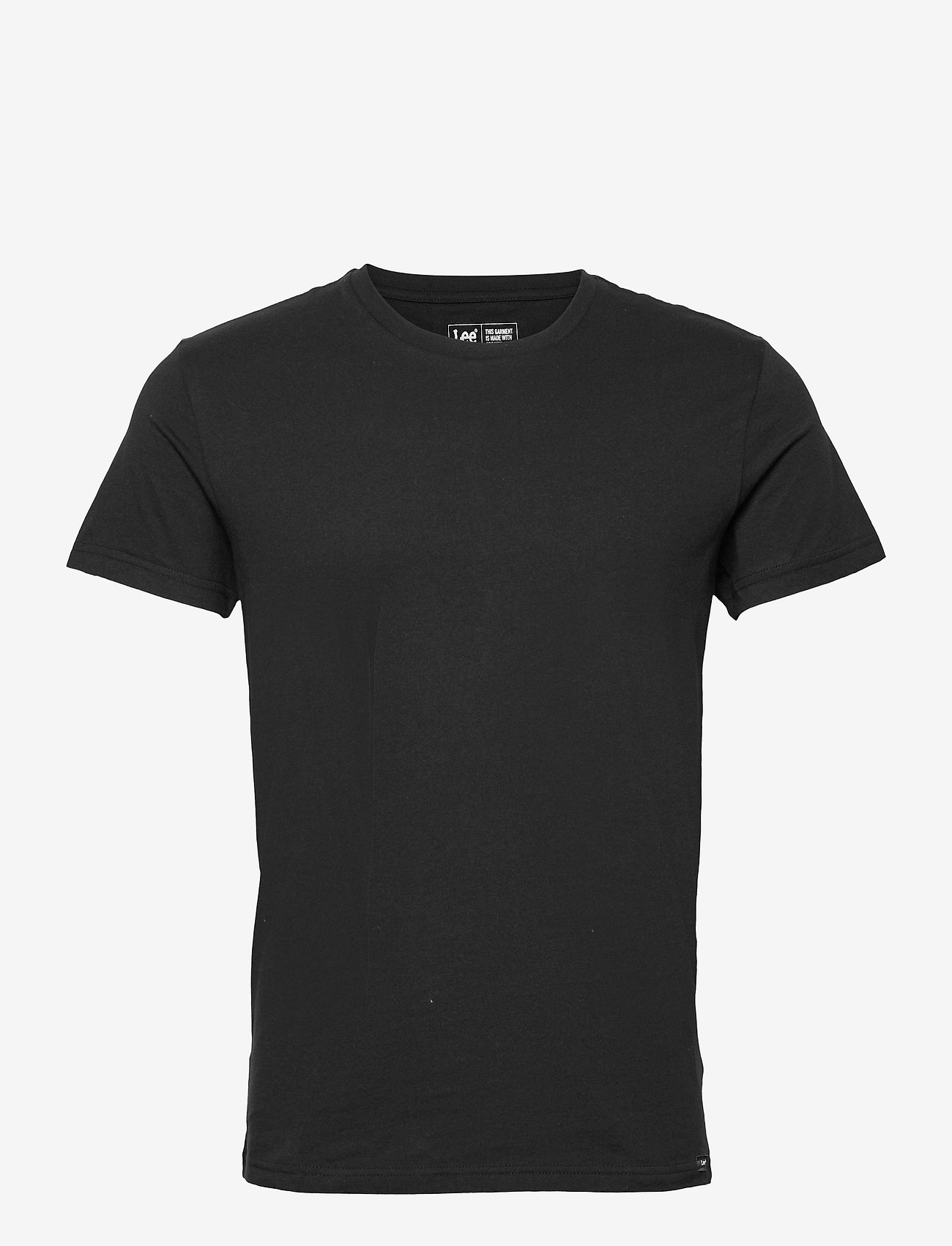 Lee Jeans - TWIN PACK CREW - basic t-shirts - black - 0