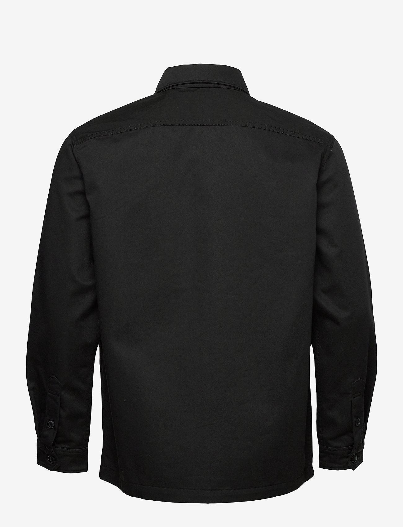 Lee Jeans - WORKWEAR OVERSHIRT - tops - black - 1