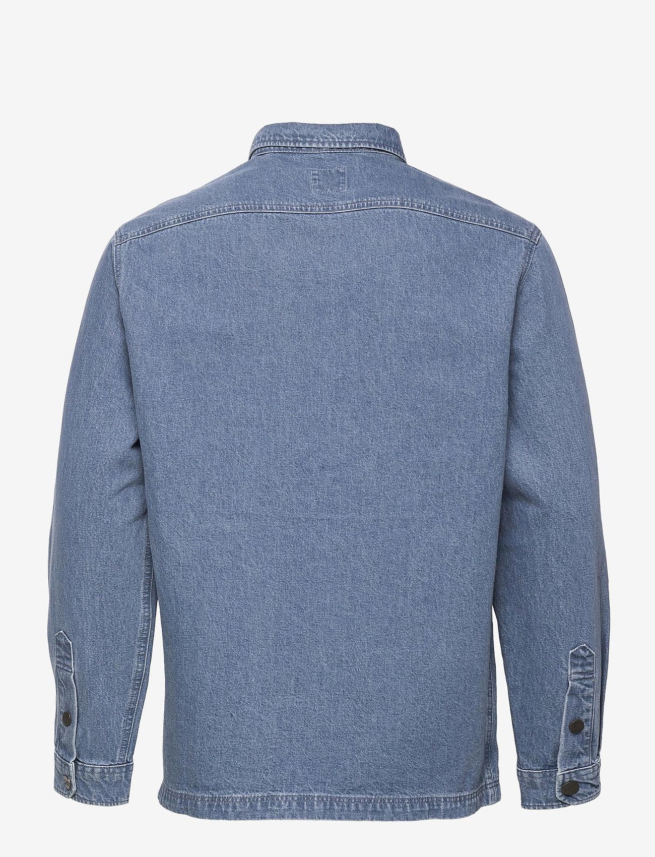 Lee Jeans - WORKWEAR OVERSHIRT - tops - grey bala - 1