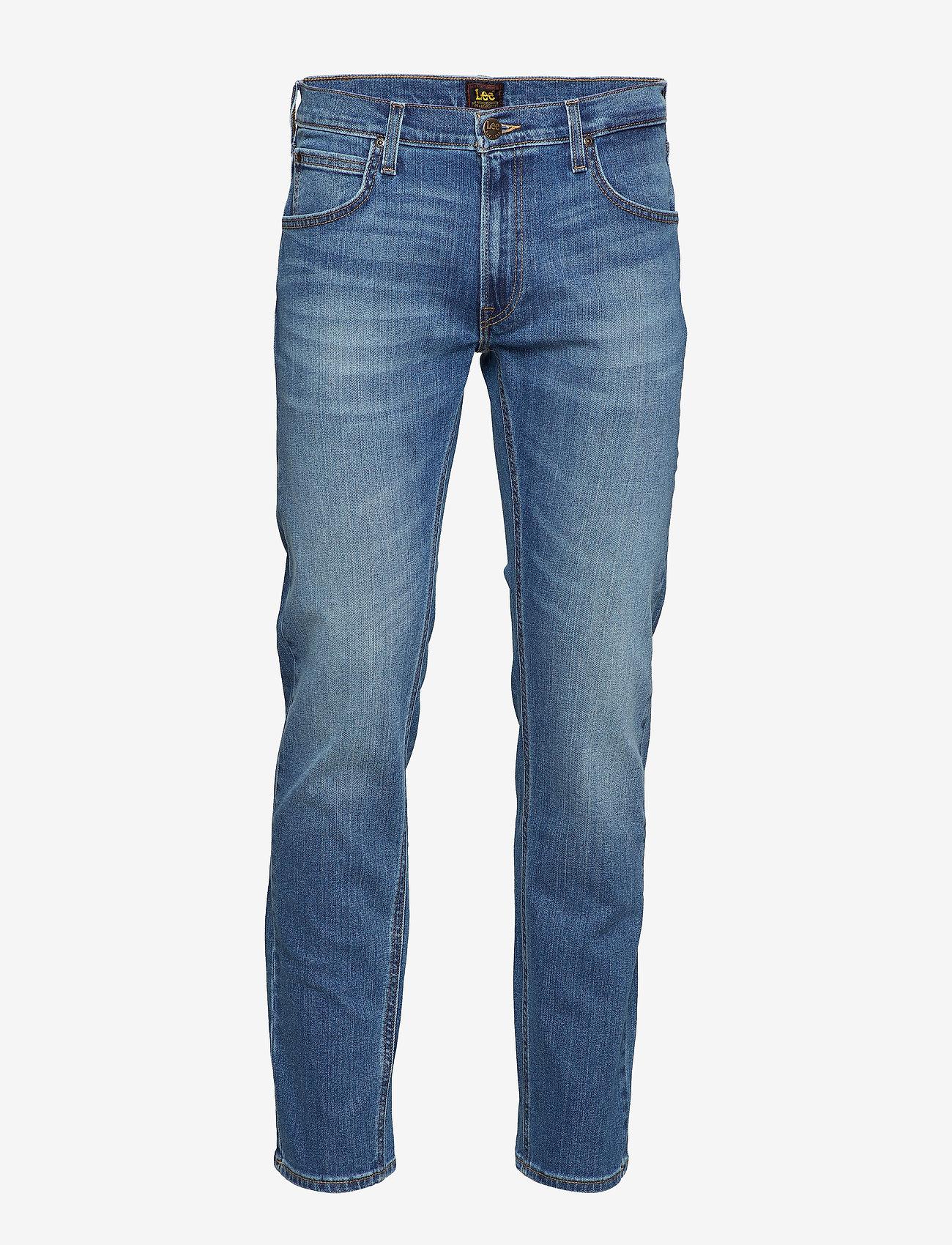 Lee Jeans - DAREN ZIP FLY - slim jeans - broken blue