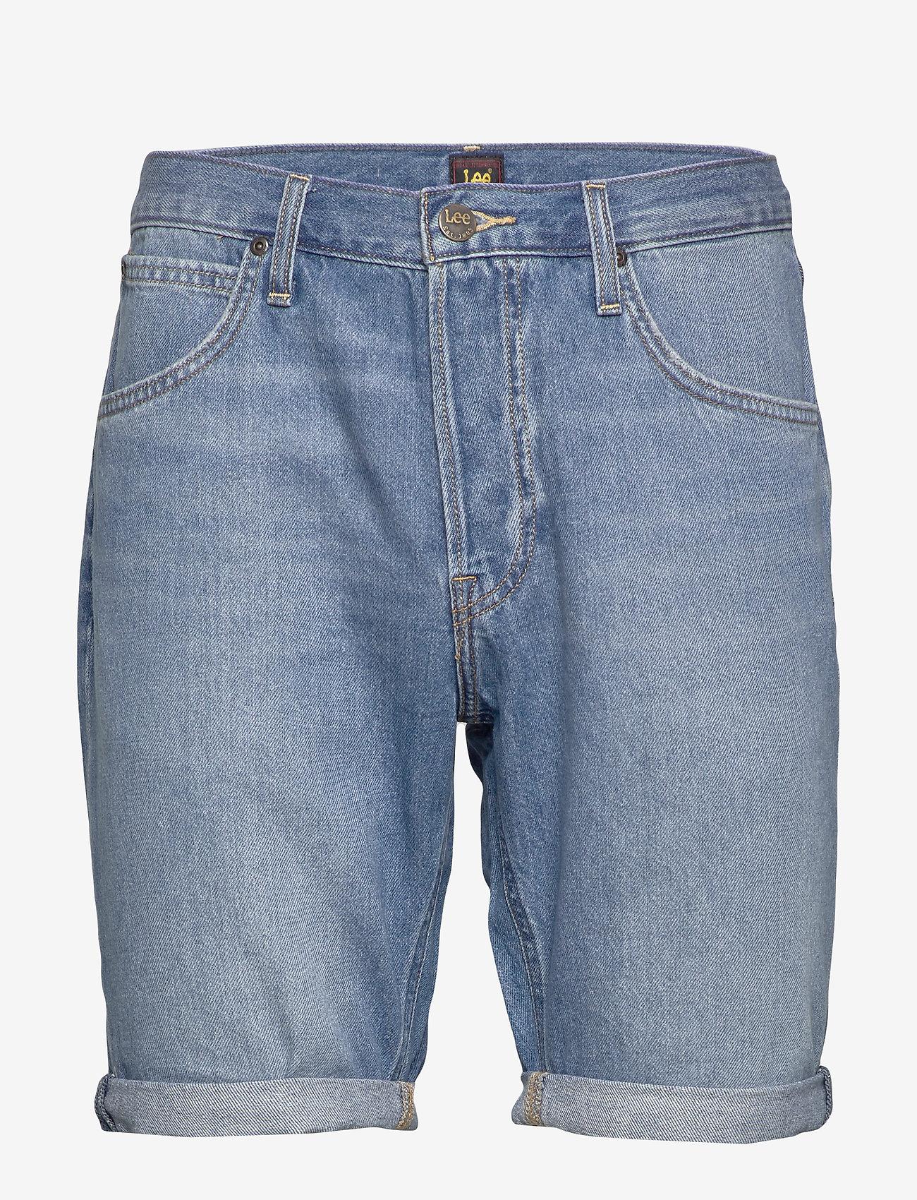 Lee Jeans - 5 POCKET SHORT - farkkushortsit - baybridge - 1