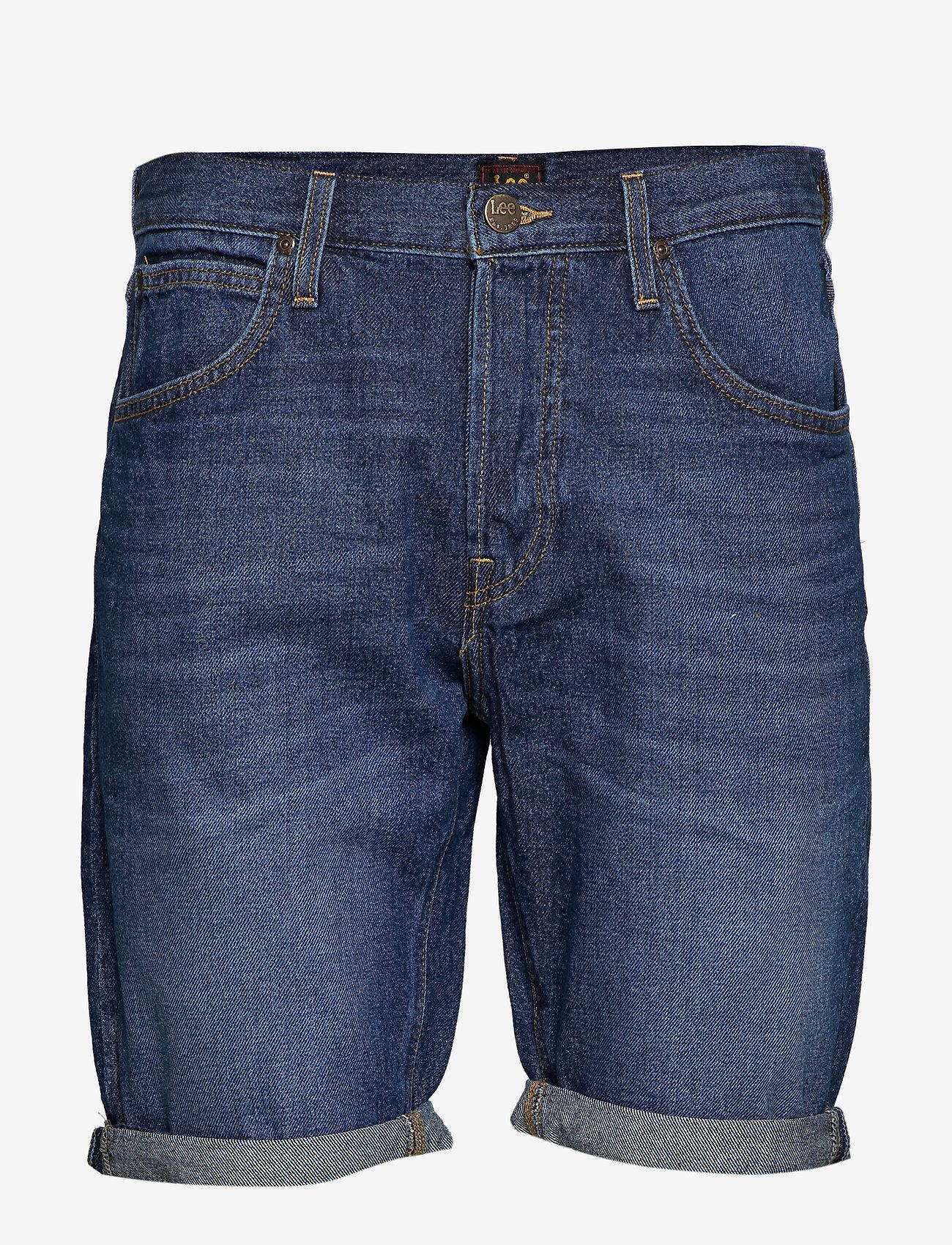 Lee Jeans - 5 POCKET SHORT - farkkushortsit - spritz - 0