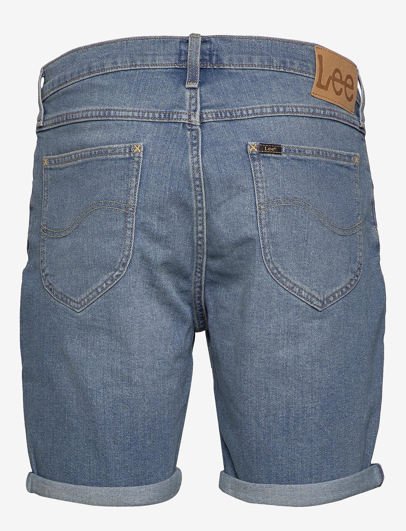 Lee Jeans - RIDER SHORT - denim shorts - hawaii light - 1