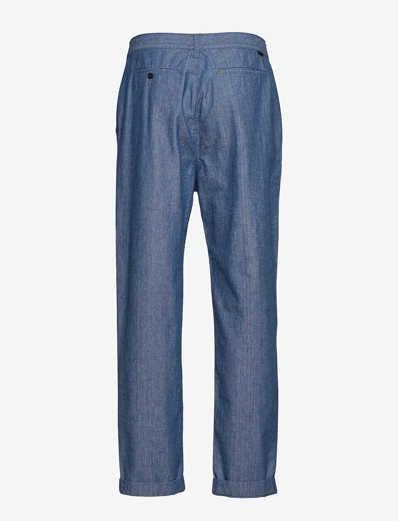Lee Jeans RELAXED CHINO - Bukser CHAMBRAY - Menn Klær