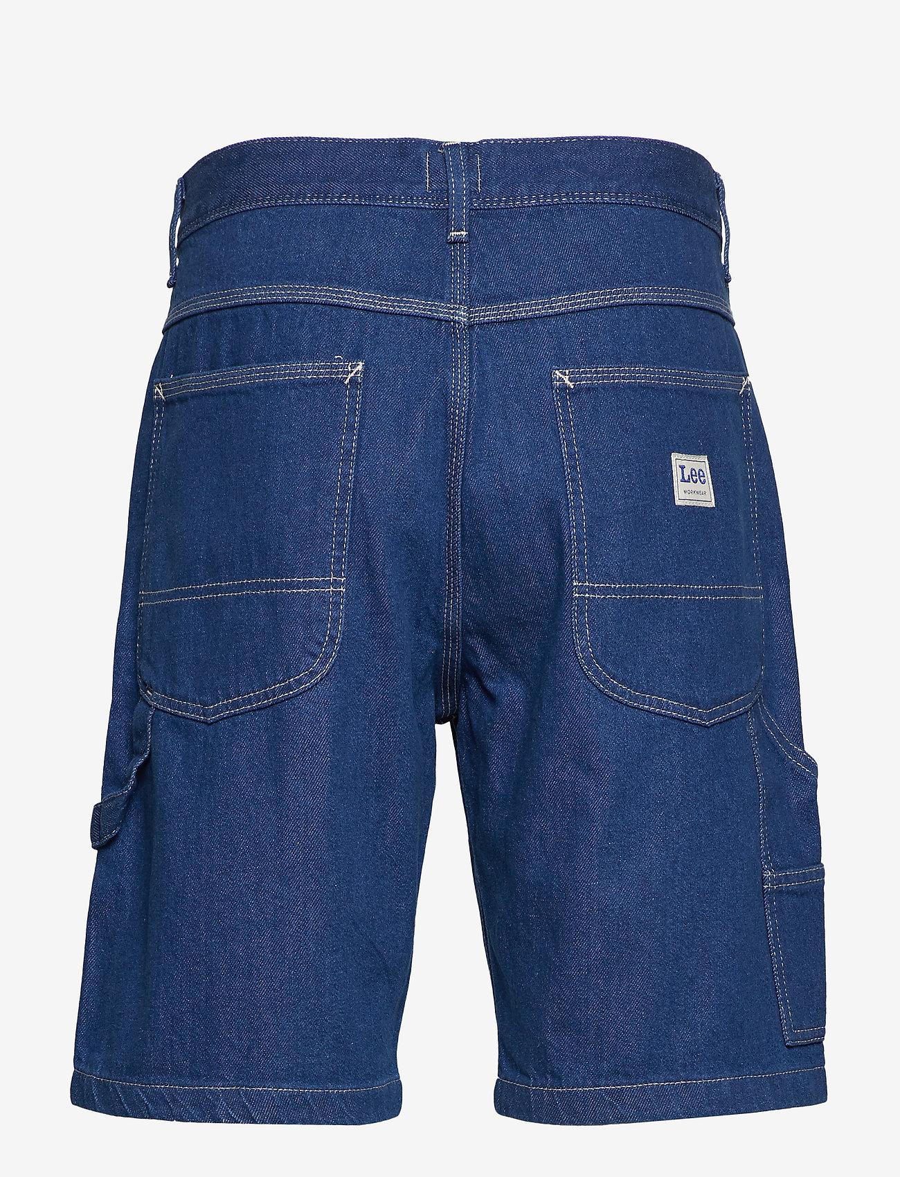 Lee Jeans - CARPENTER SHORT - denim shorts - rinse