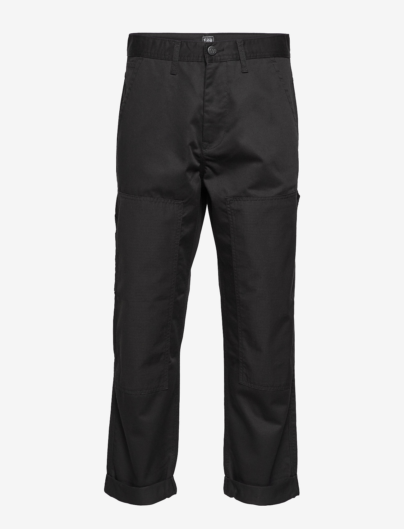 Lee Jeans - CARPENTER - bojówki - black - 0