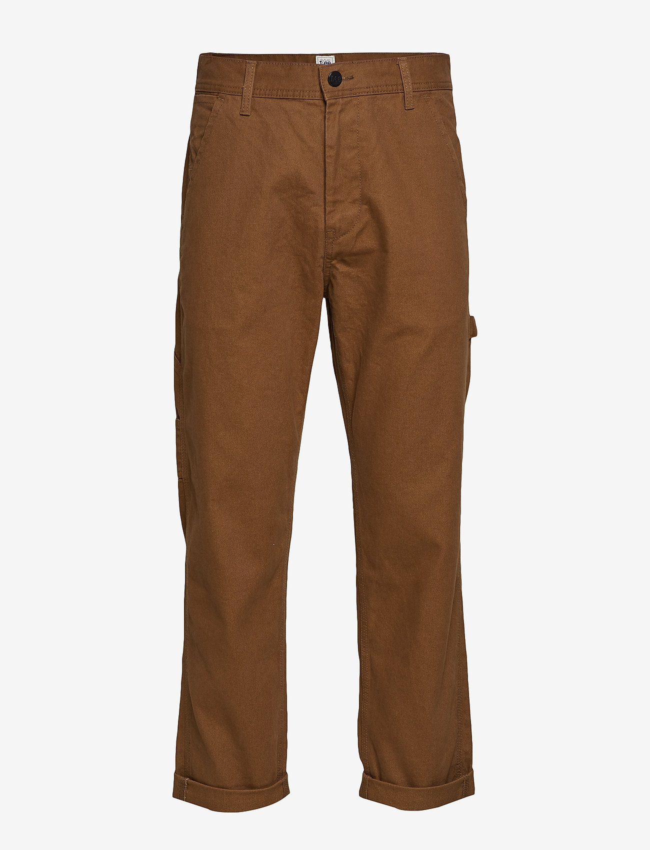 Lee Jeans - CARPENTER - bojówki - toffee - 0