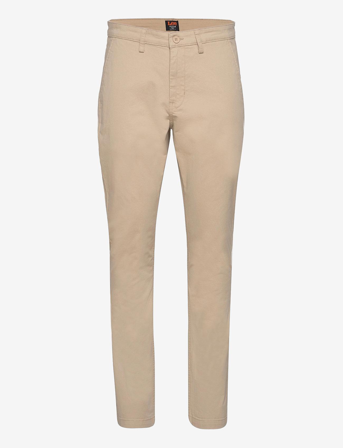 Lee Jeans - SLIM CHINO - chinos - service sand - 0