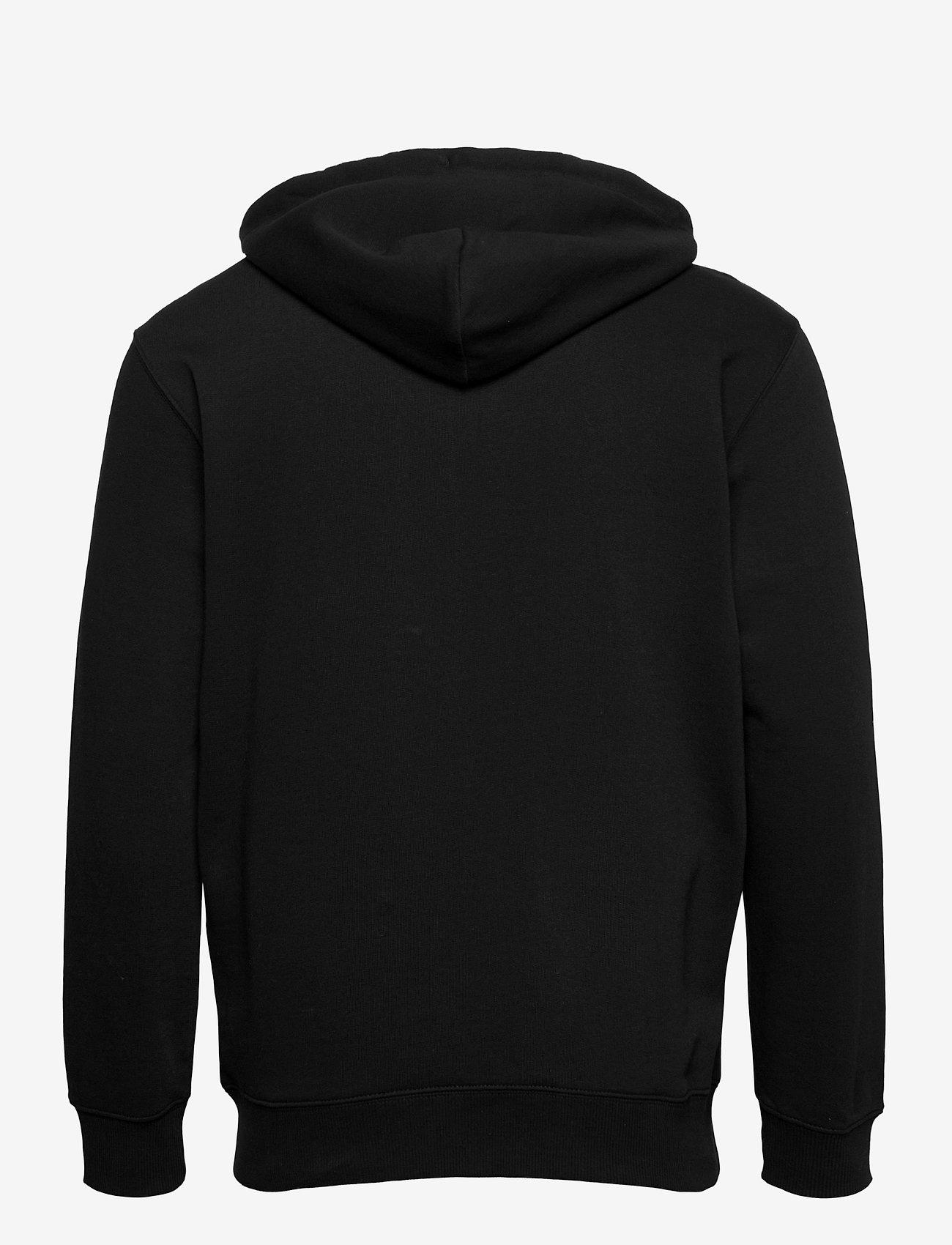 Lee Jeans - BASIC ZIP THROUGH HO - hoodies - black - 1